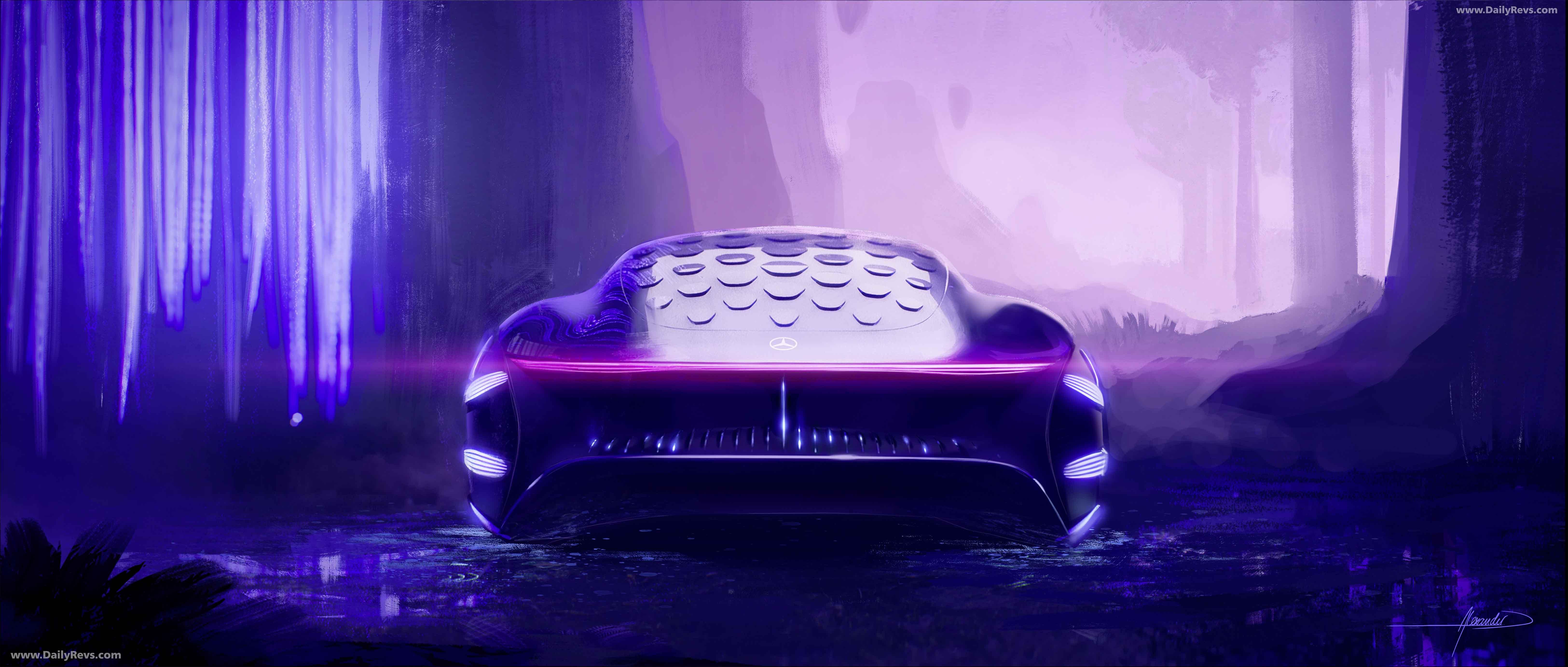 2020 Mercedes- Benz Vision AVTR Concept full
