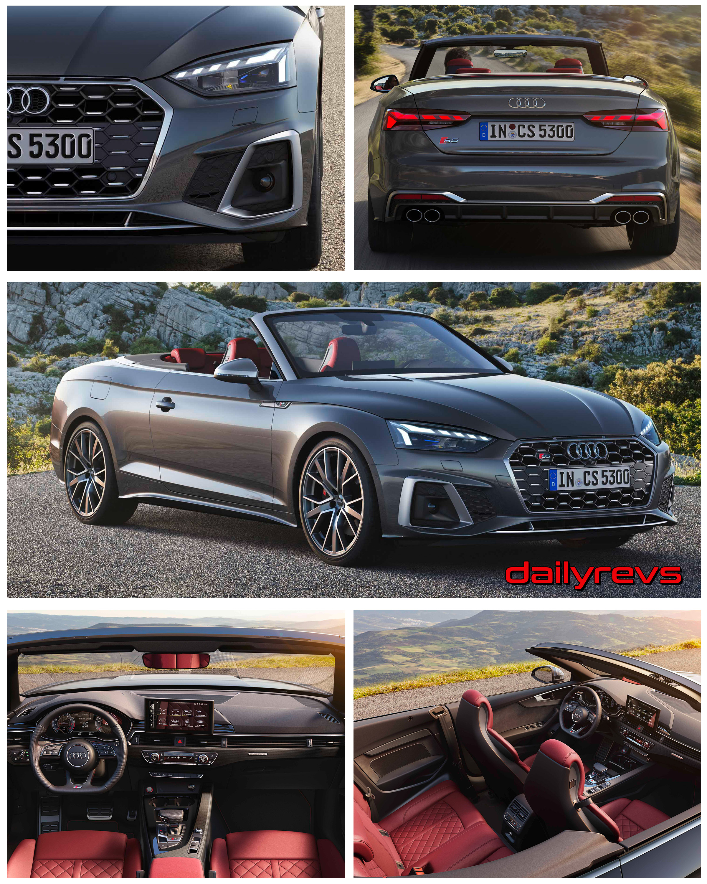 2020 Audi S5 Cabriolet Tfsi Hd Pictures Videos Specs Information Dailyrevs