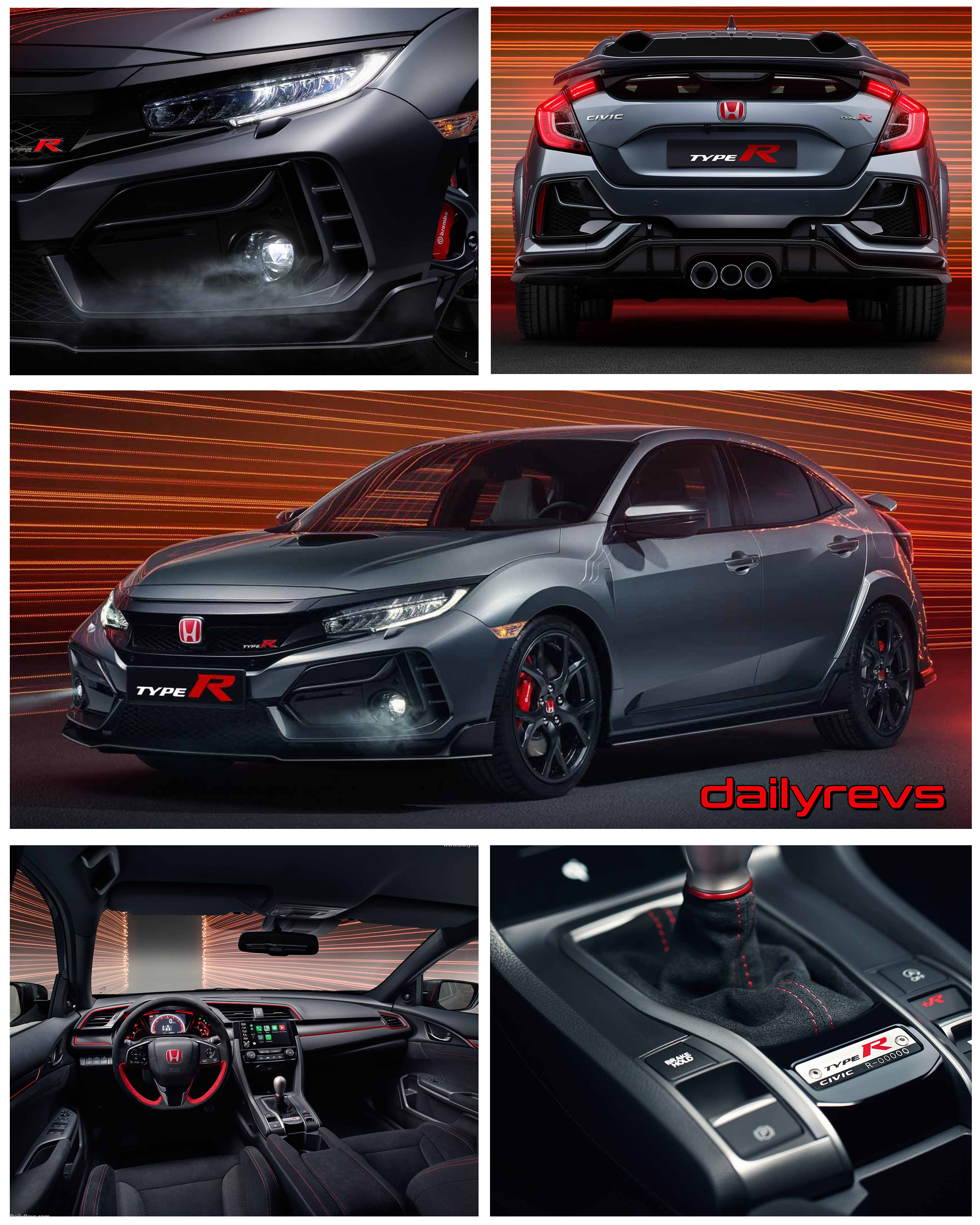 2021 Honda Civic Type R Sport Line Hd Pictures Videos Specs Information Dailyrevs
