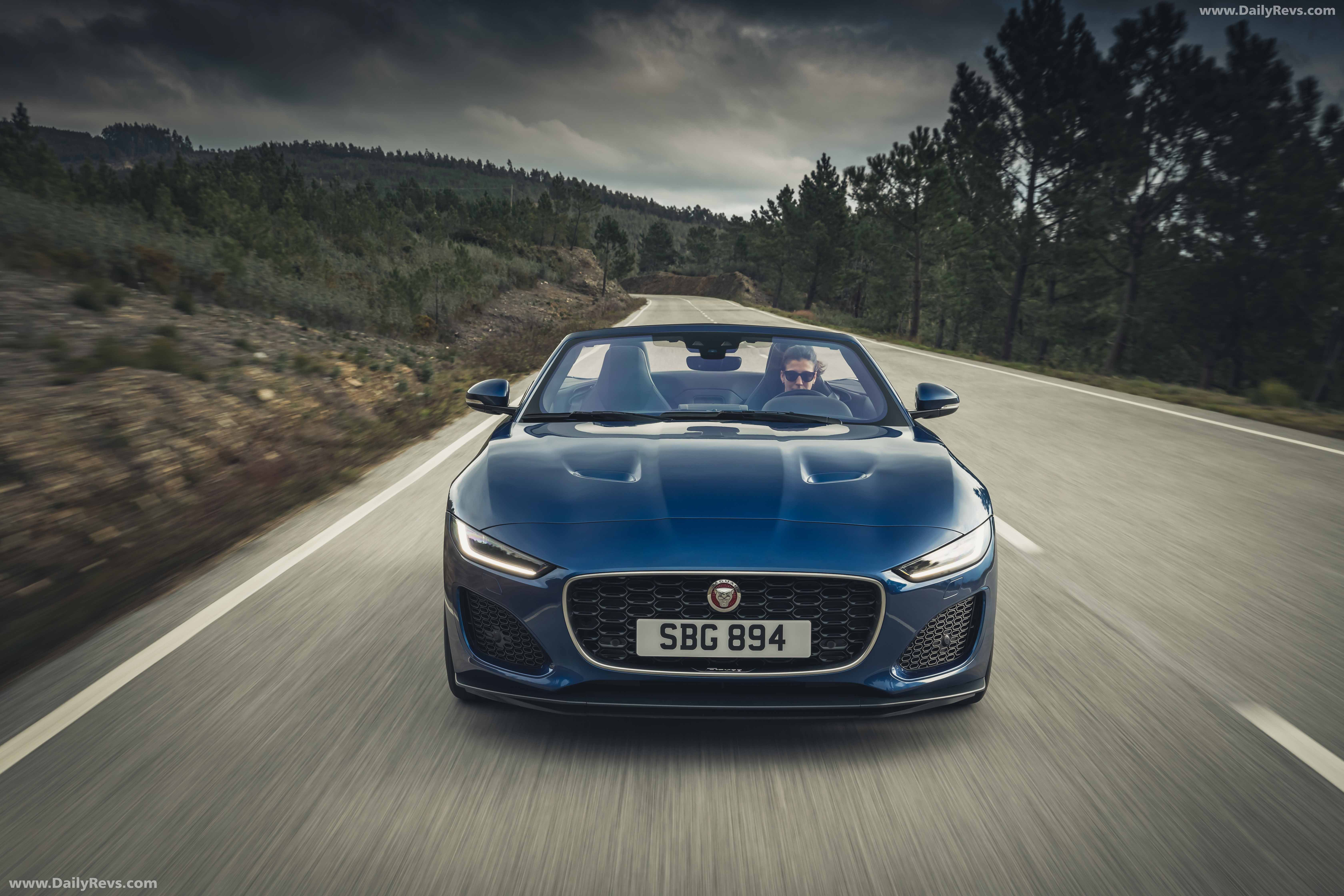 2021 jaguar ftype convertible  hd pictures videos