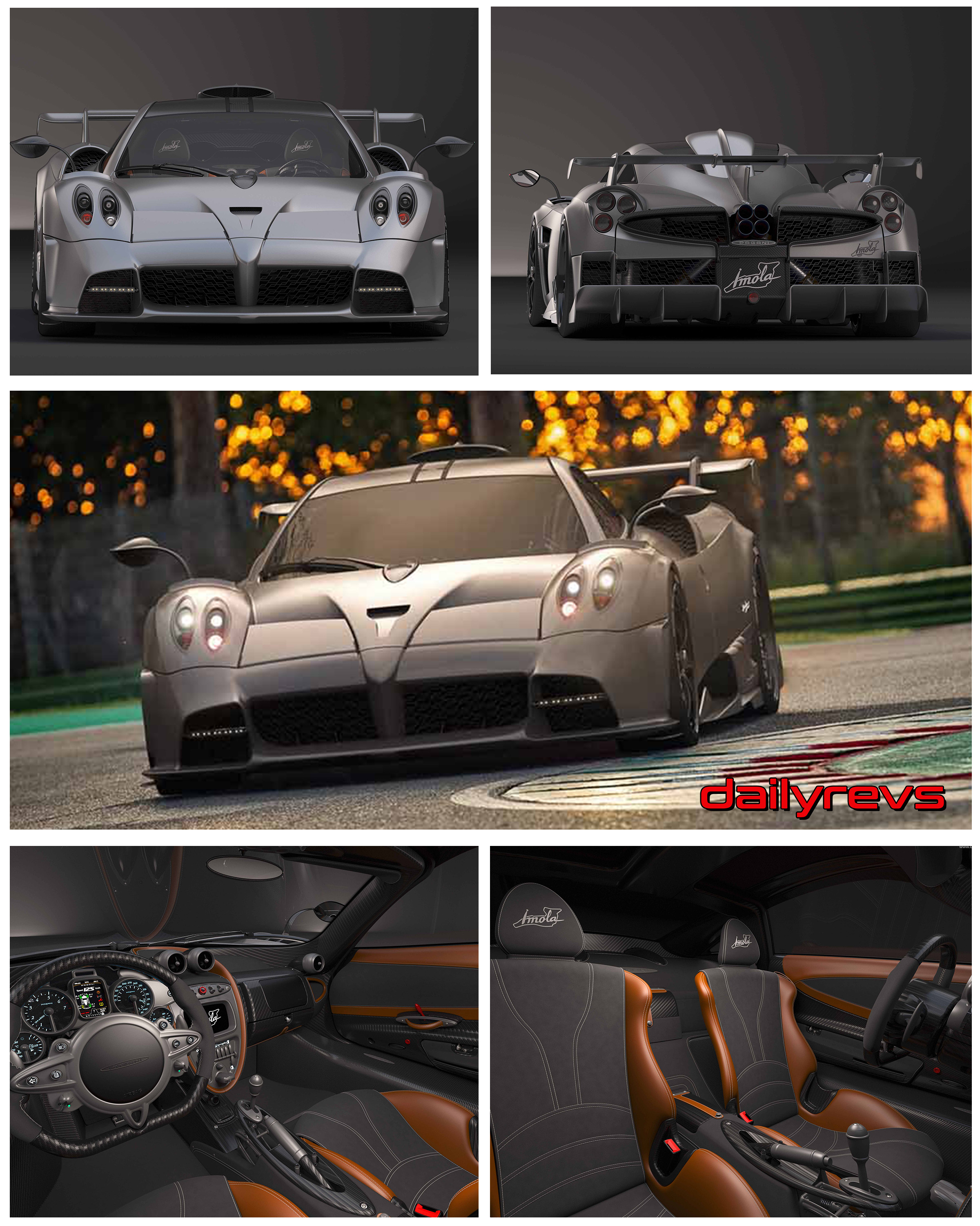 2021 Pagani Imola Hd Pictures Videos Specs Information Dailyrevs