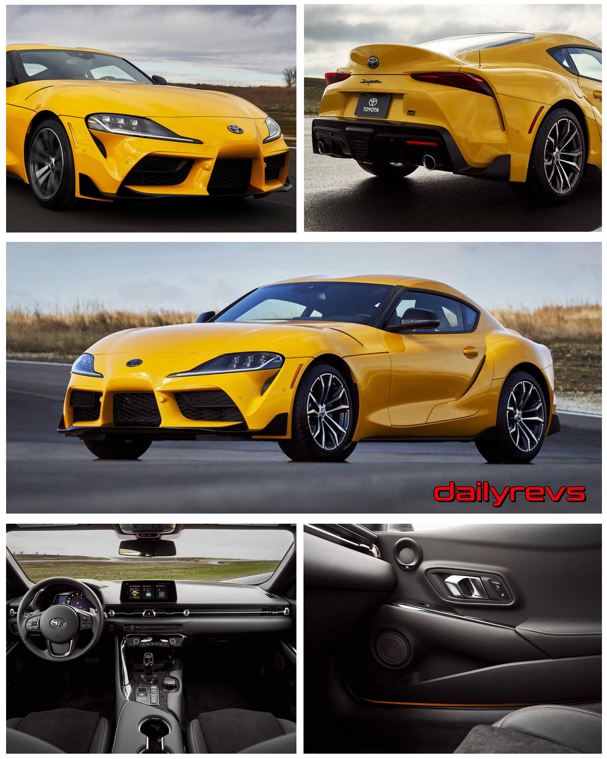 2021 toyota gr supra 20  hd pictures videos specs