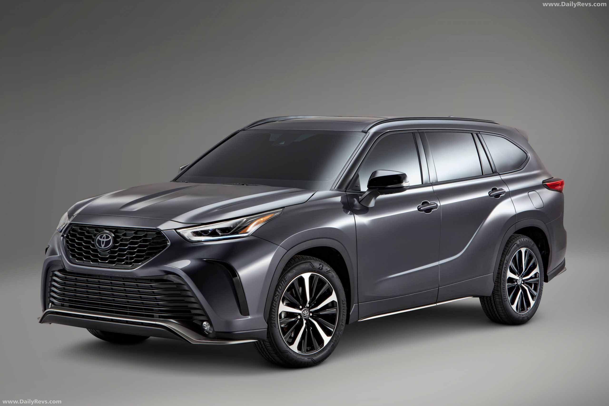 2021 toyota highlander xse - hd pictures, videos, specs