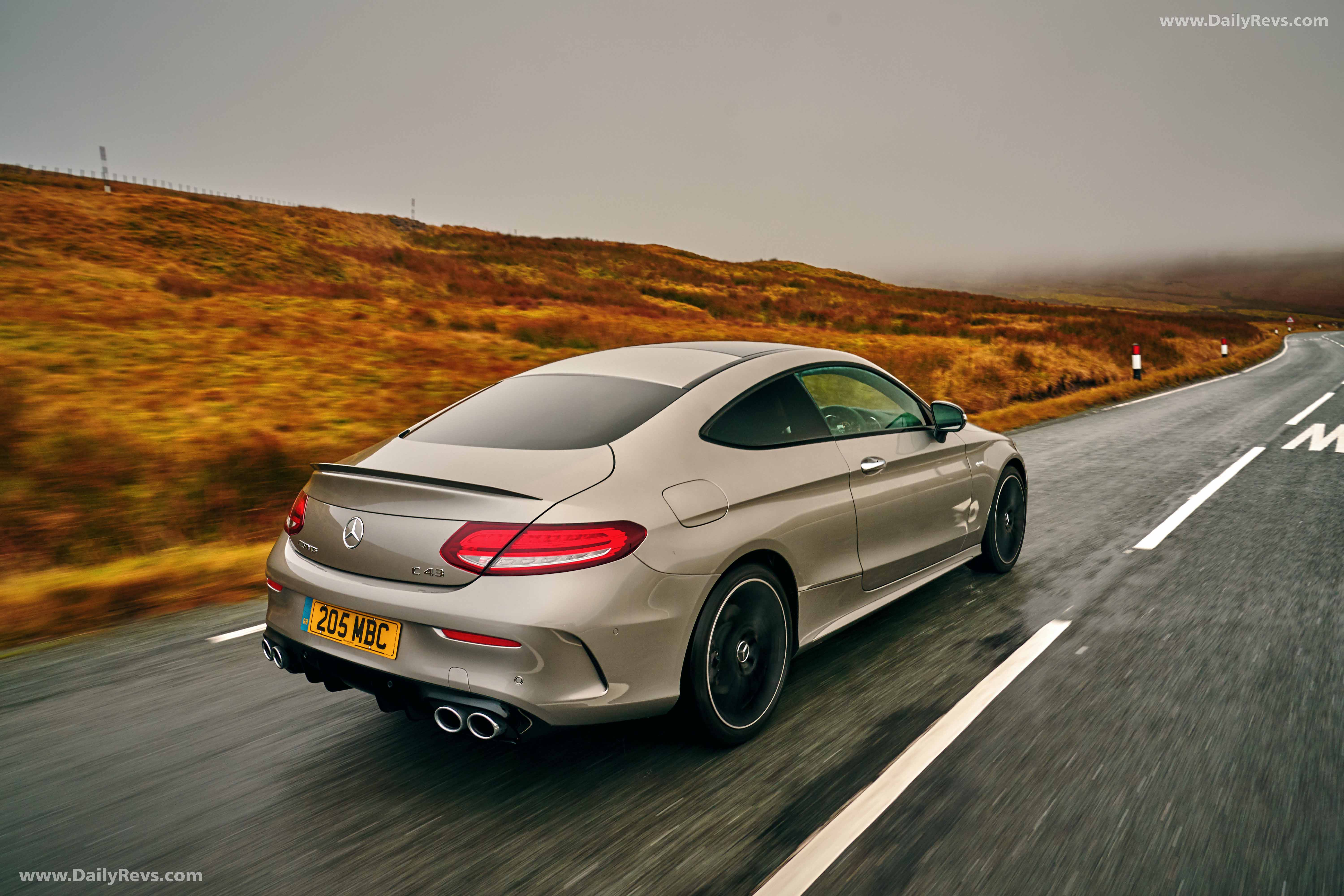 2019 Mercedes-Benz C43 AMG Coupe UK - HD Pictures ...