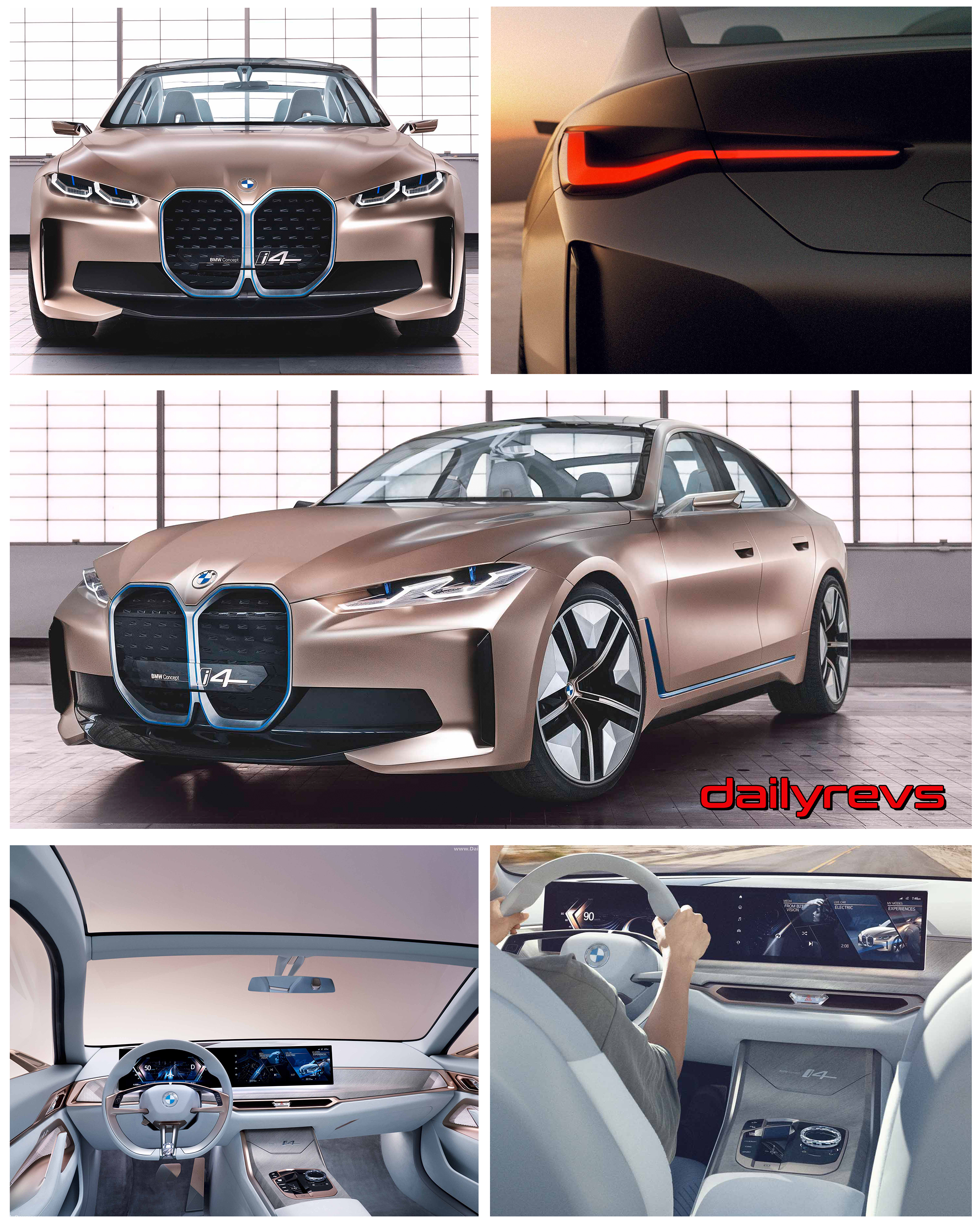 2020 Bmw I4 Concept Hd Pictures Videos Specs Information Dailyrevs