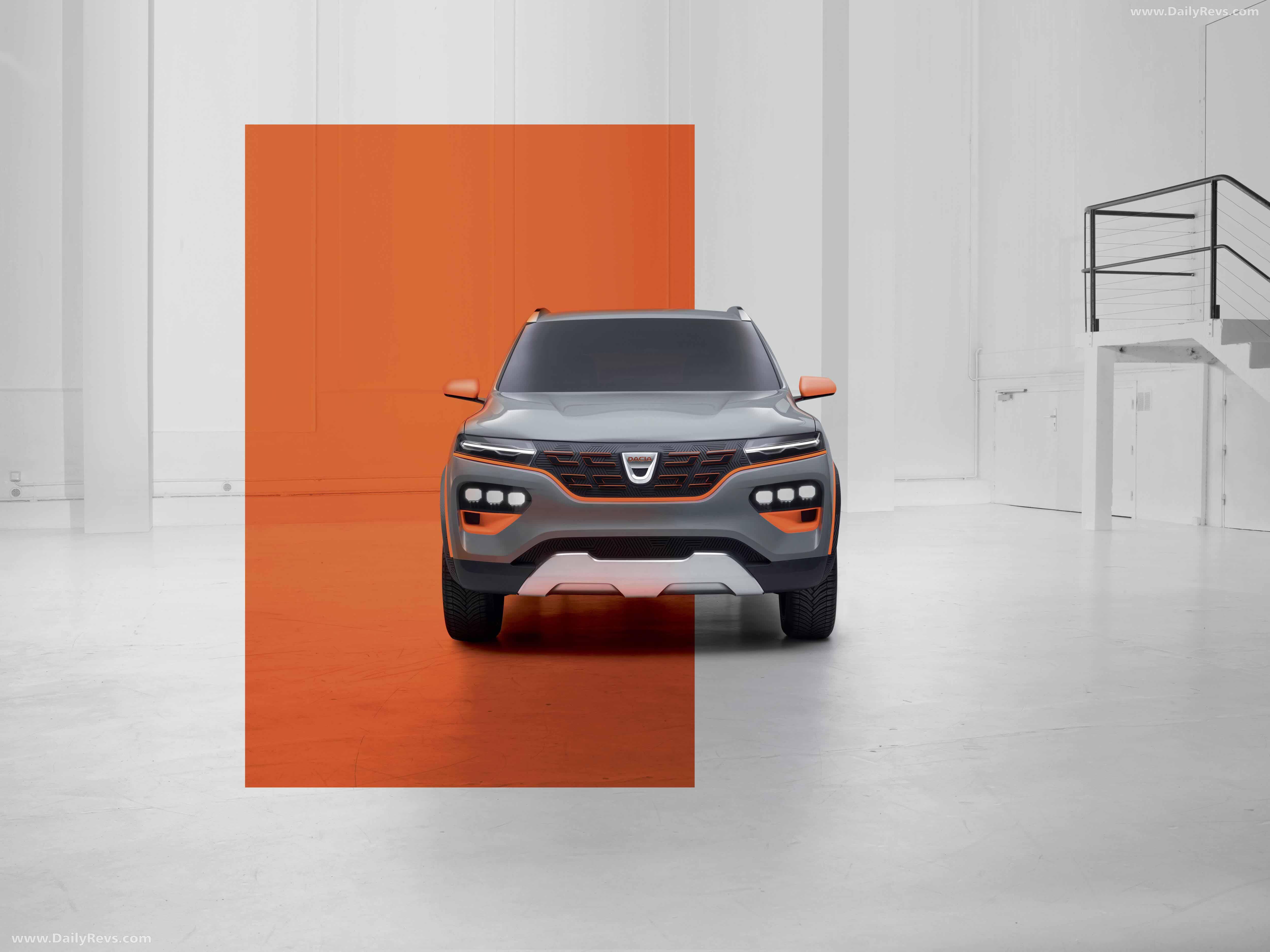 2020 Dacia Spring Electric Concept full