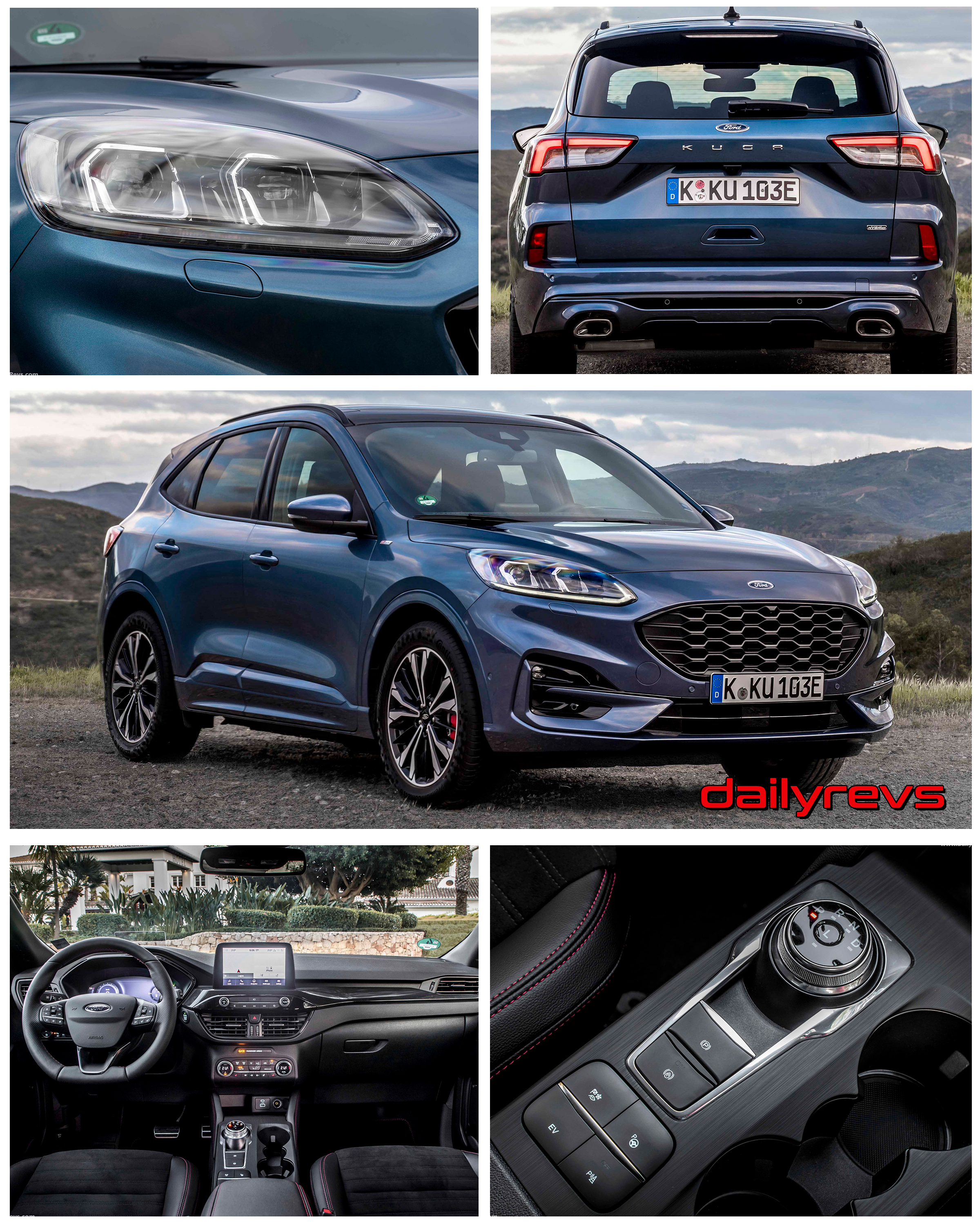2020 Ford Kuga ST-Line PHEV - Dailyrevs