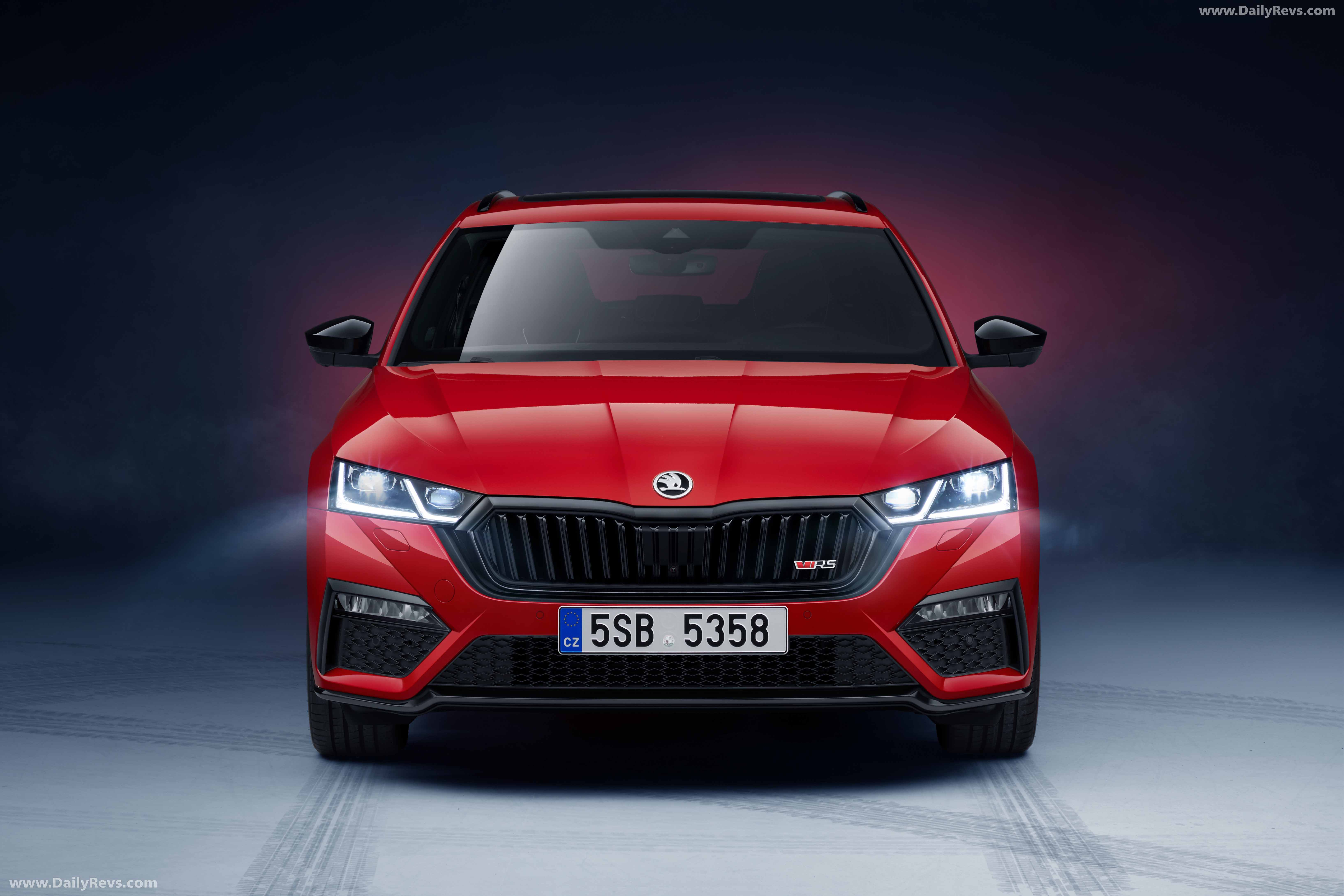 2020 Skoda Octavia Combi Rs Iv Hd Pictures Videos Specs Information Dailyrevs