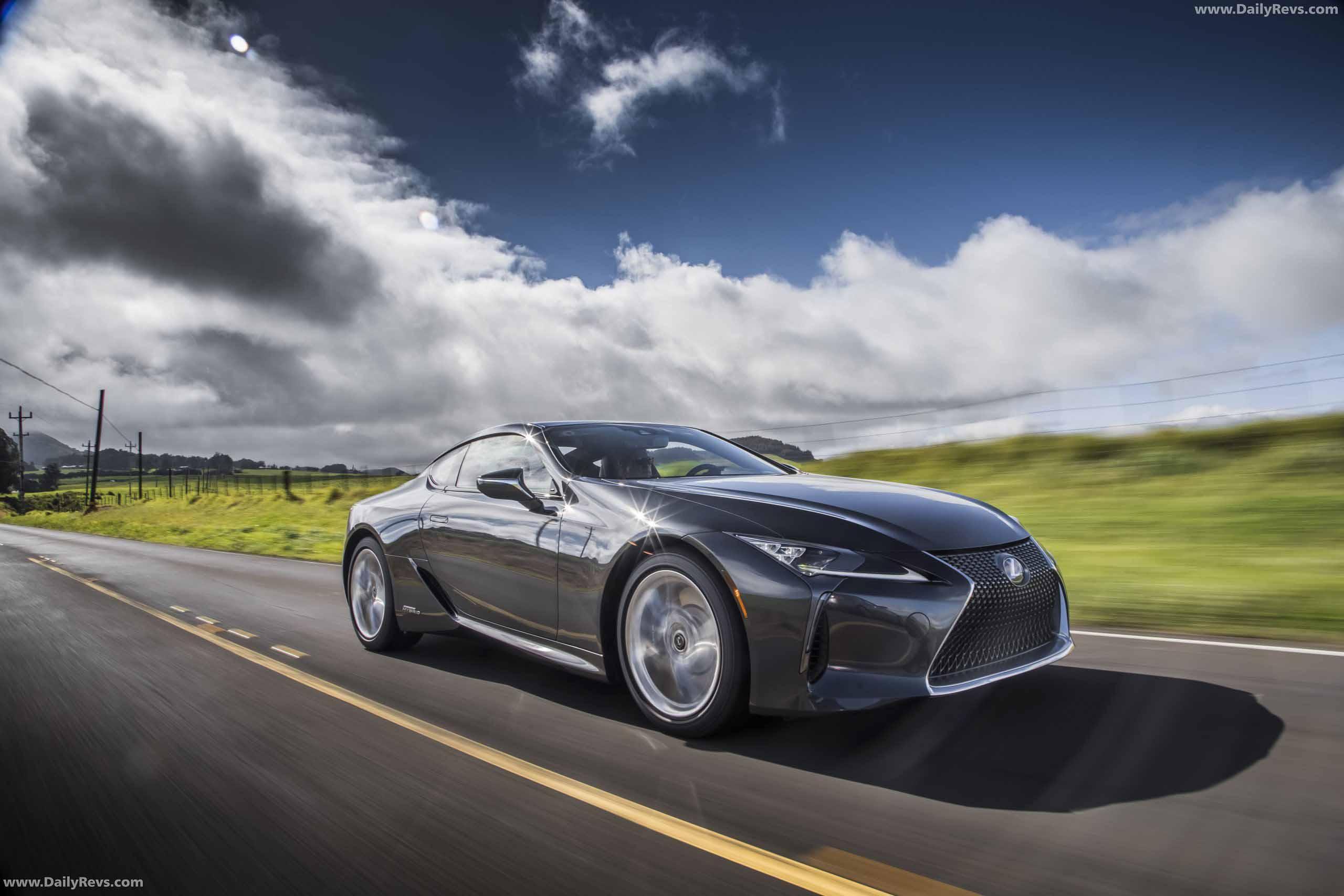 2021 Lexus LC 500h - Dailyrevs