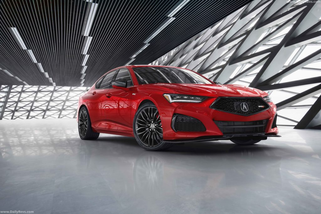 2021 acura tlx  dailyrevs