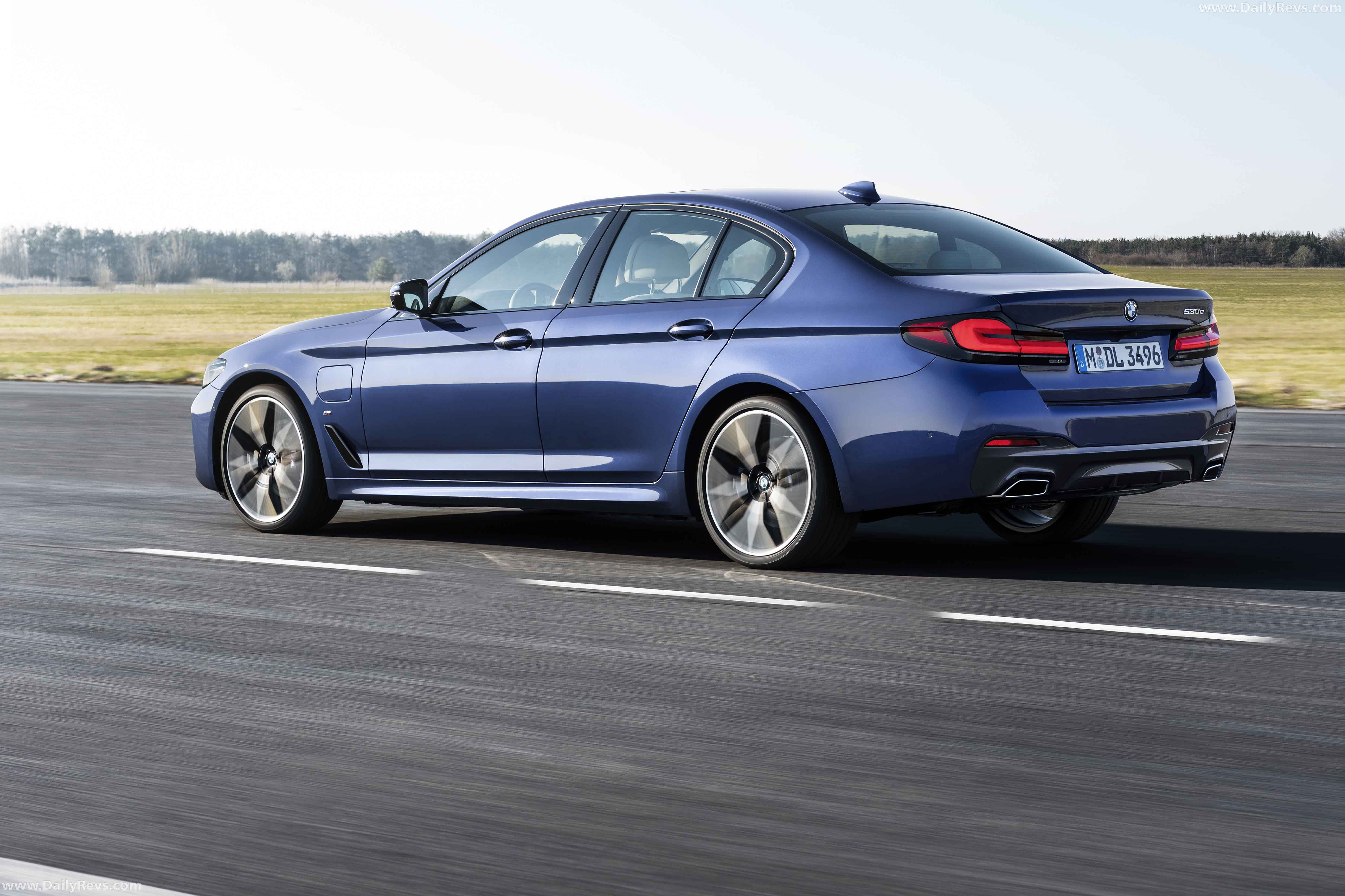 2021 bmw 5series  dailyrevs