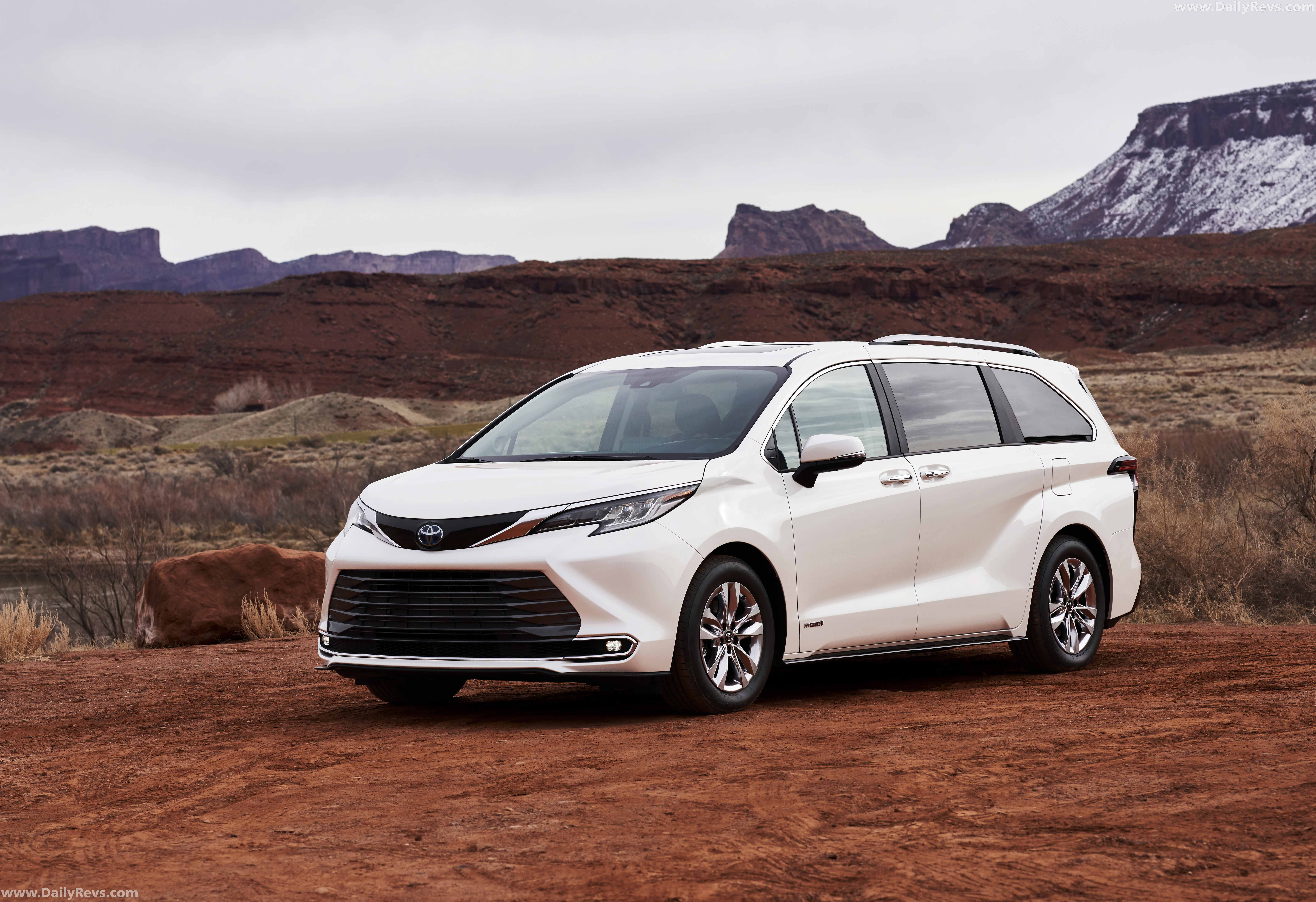 2021 Toyota Sienna Limited - Dailyrevs