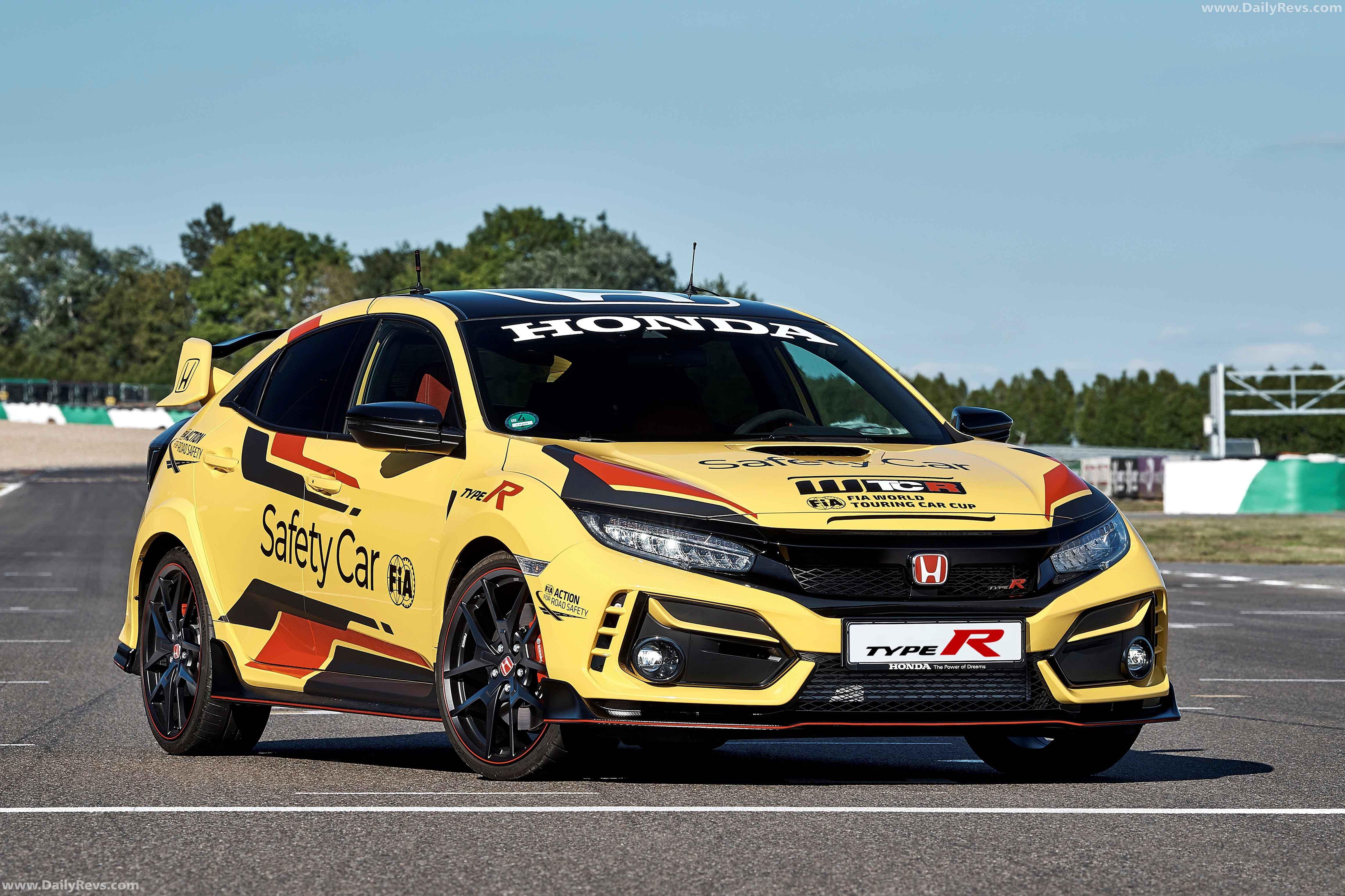2020 Honda Civic Type R Safety Car full