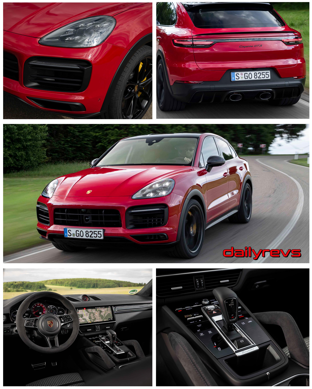 2020 Porsche Cayenne Gts Coupe Carmine Red Dailyrevs