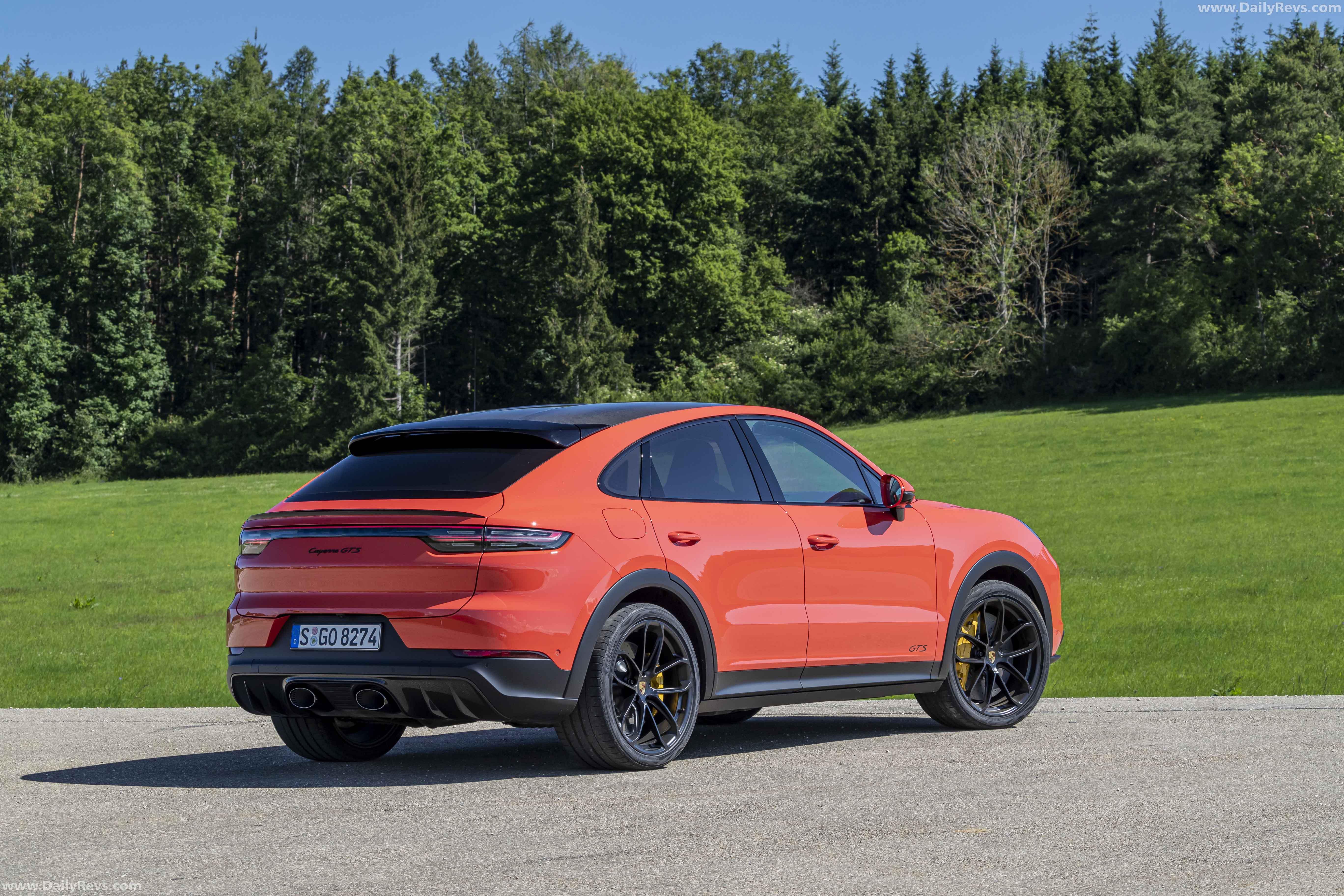 2020 Porsche Cayenne GTS Coupe Lava Orange - Dailyrevs