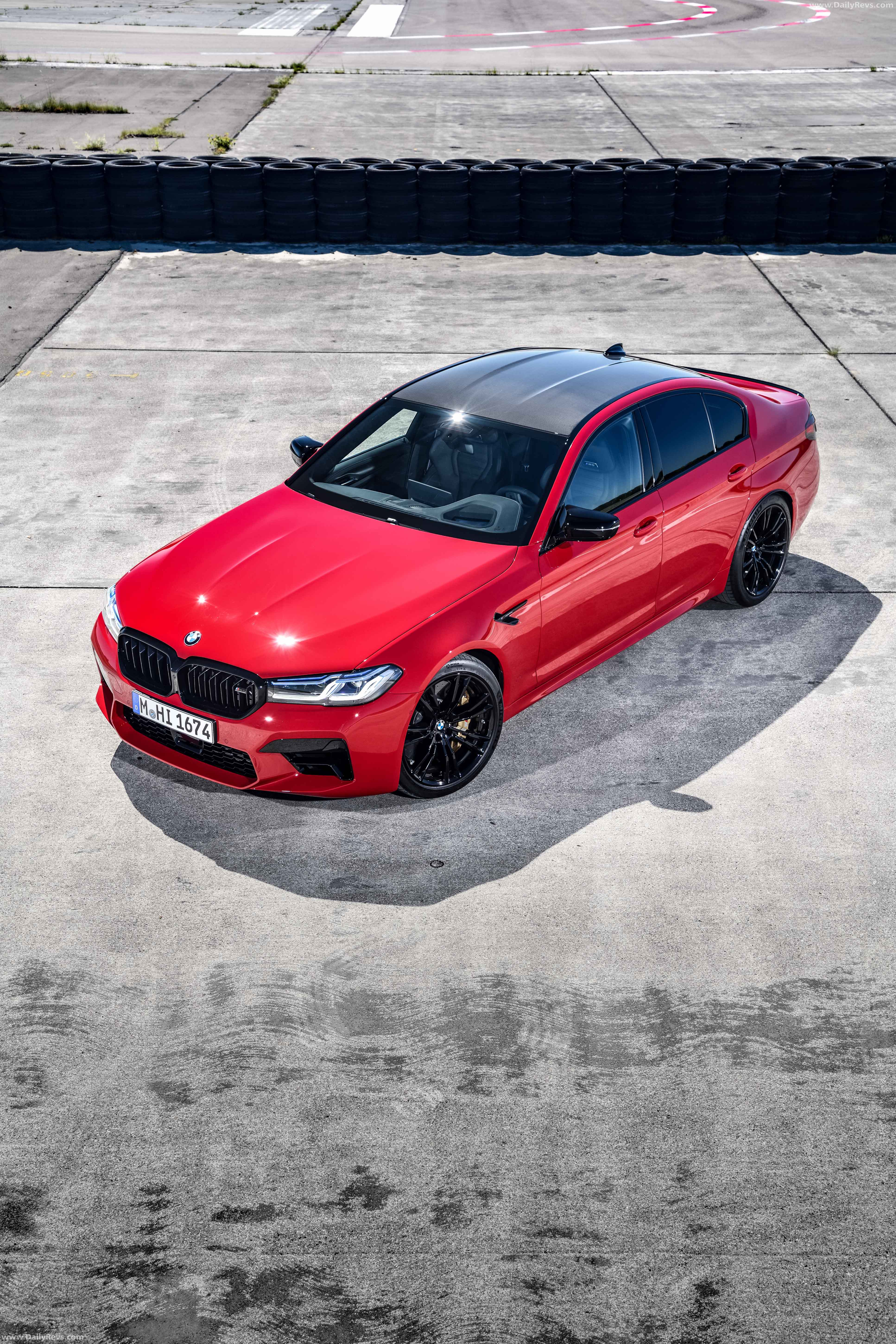 2021 bmw m5 competition  dailyrevs