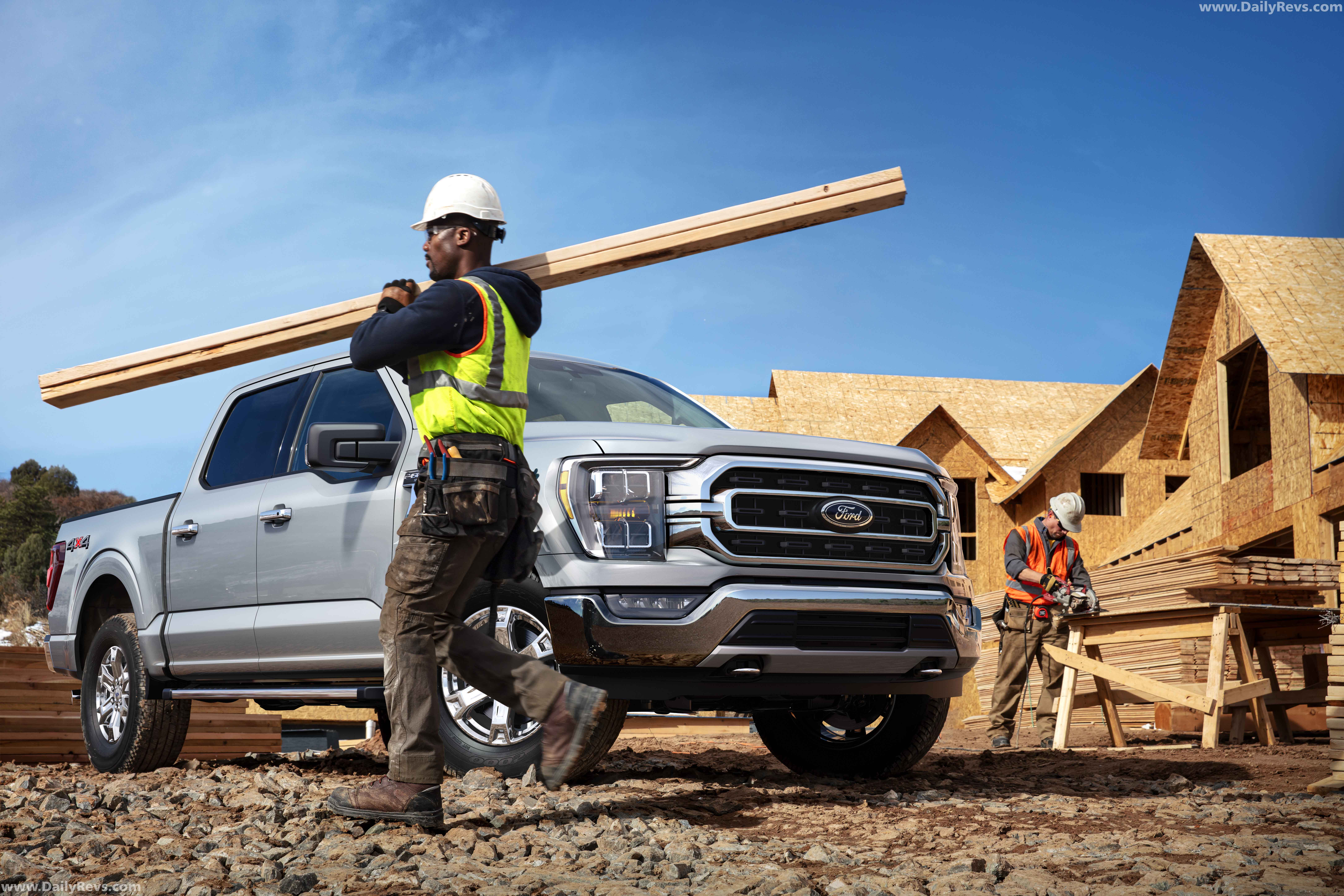 2021 ford f150  dailyrevs