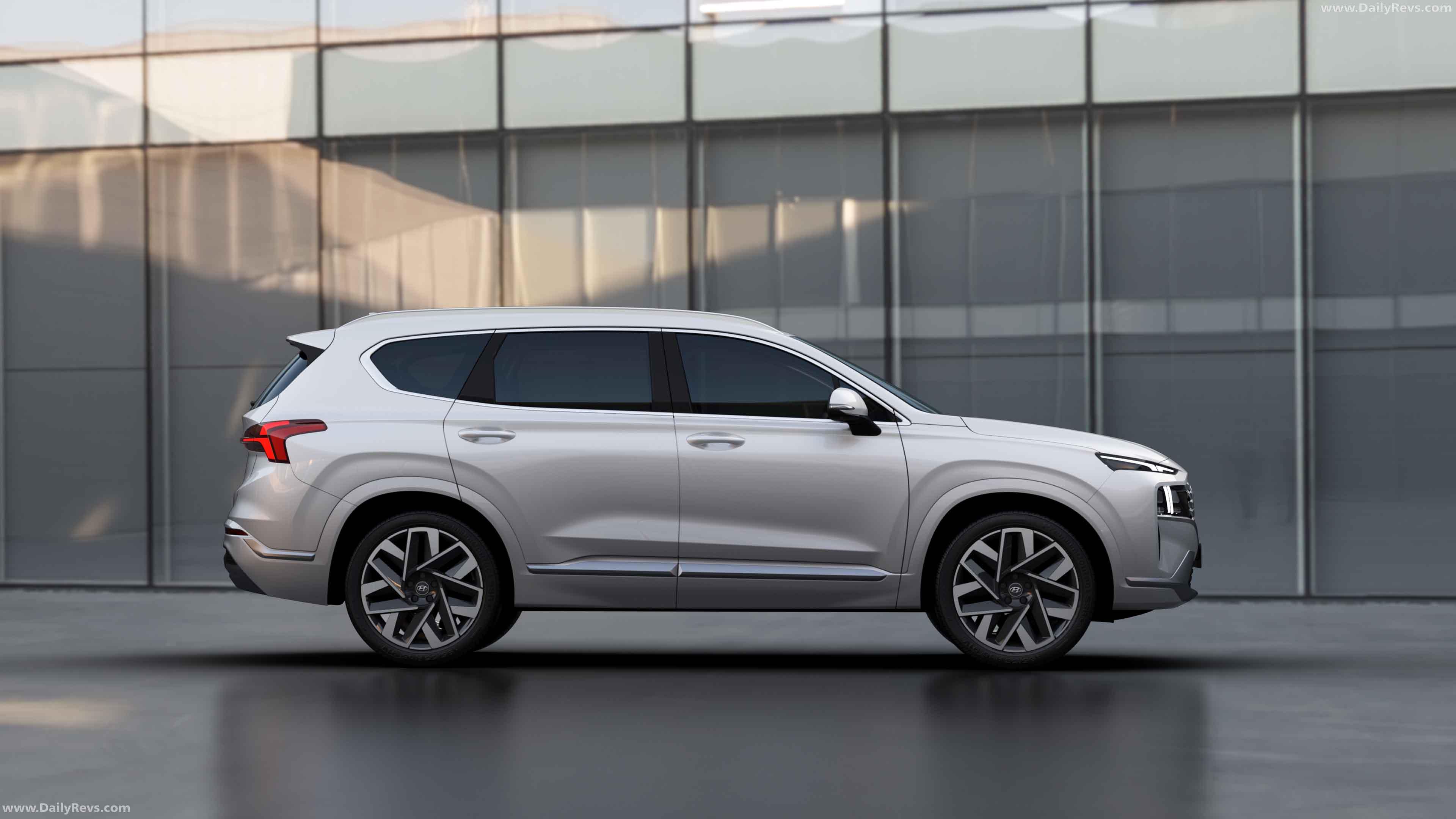 2021 Hyundai Santa Fe - Dailyrevs