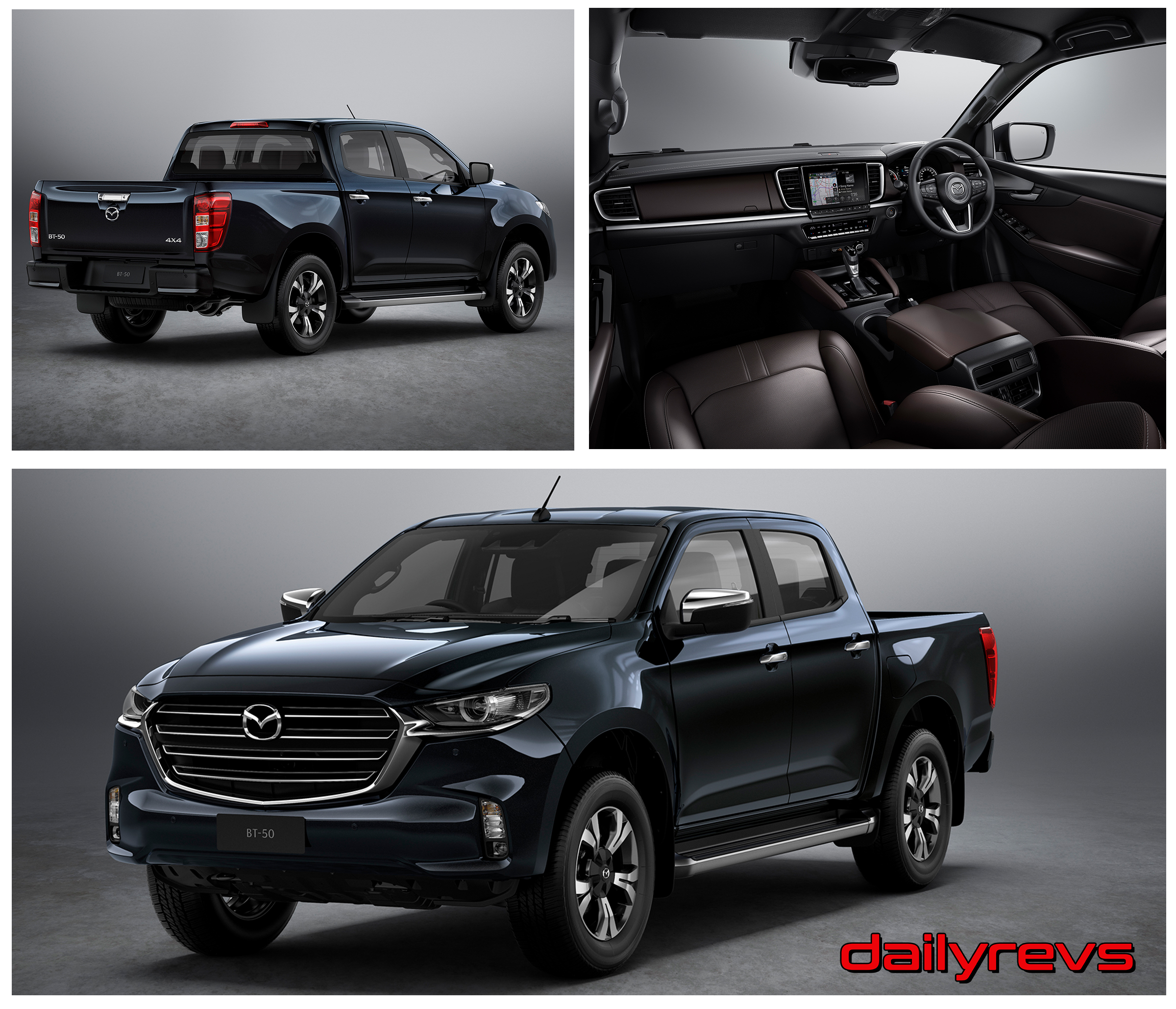 2021 mazda bt50  dailyrevs