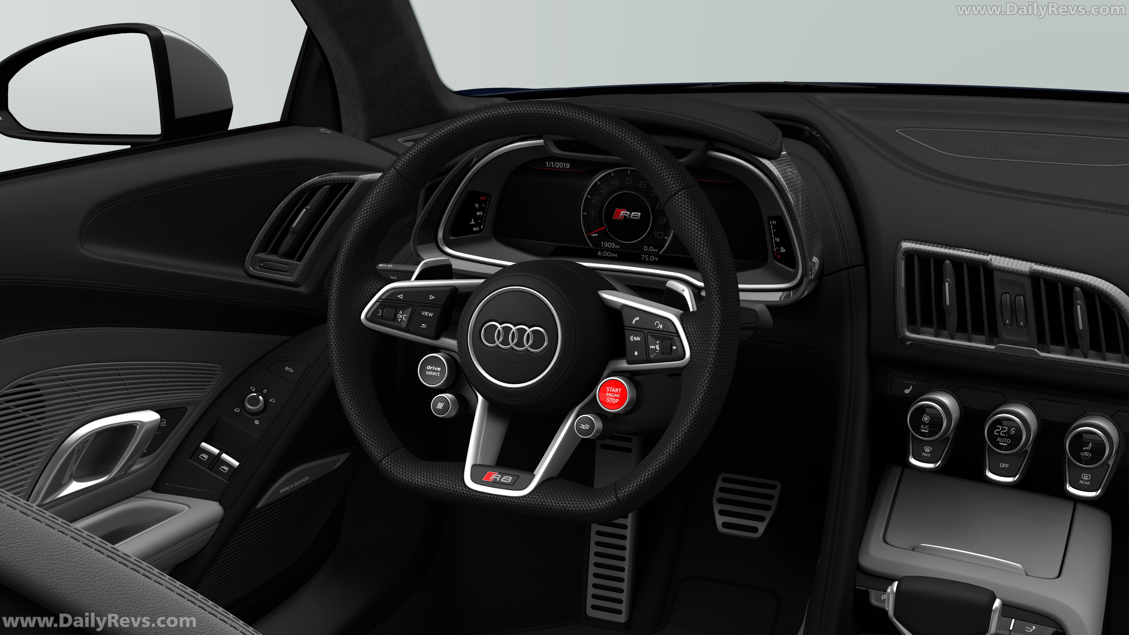 2020 audi r8 v10 limited edition  dailyrevs