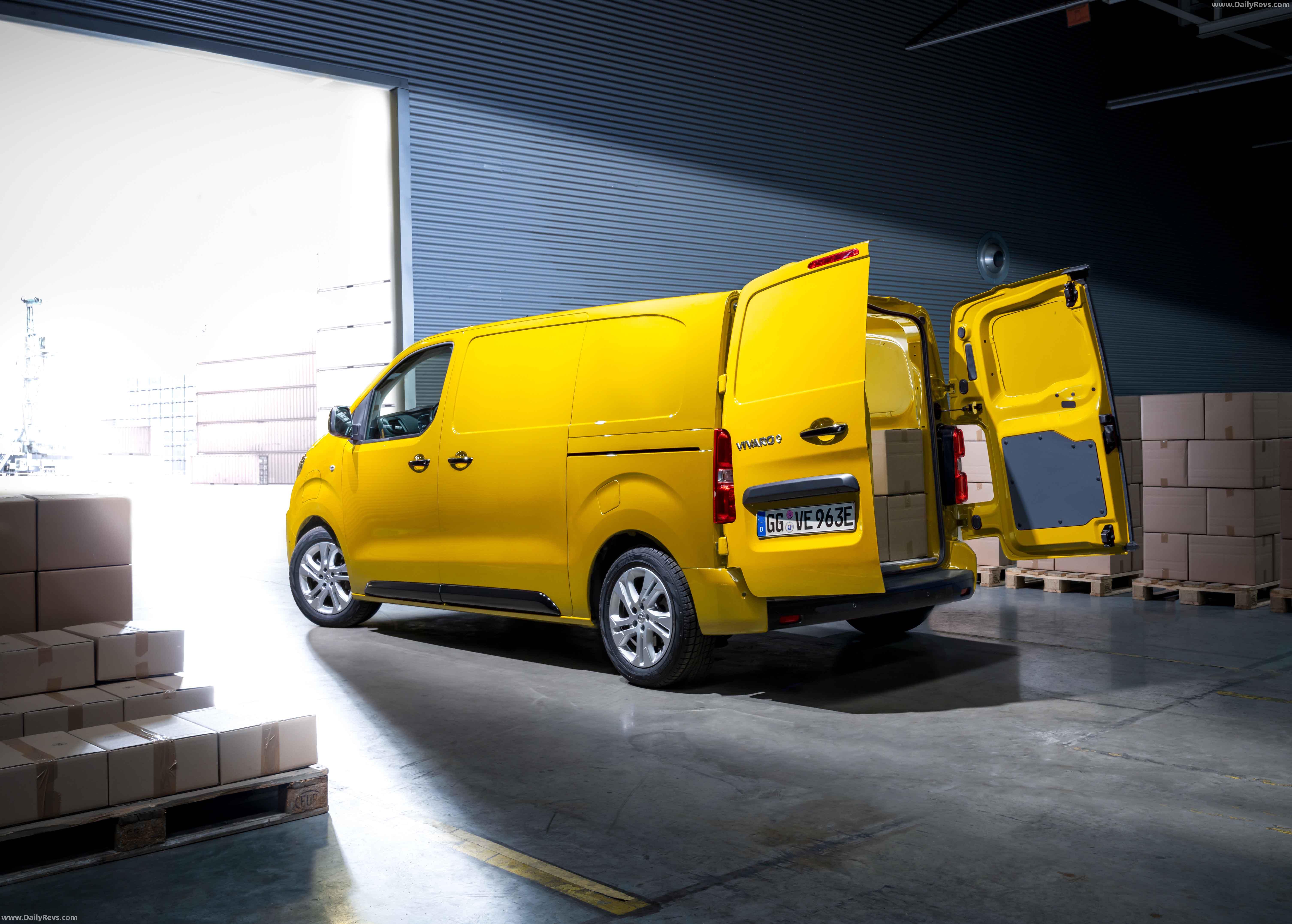 2020 Opel Vivaro-e full