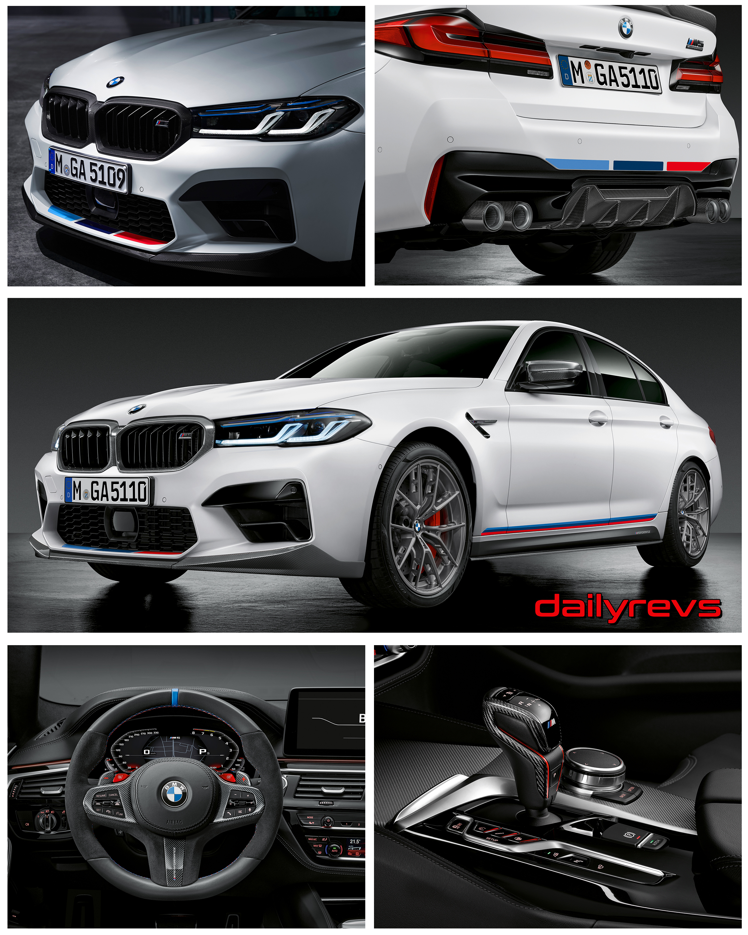 2021 Bmw M5 M Performance Parts Dailyrevs