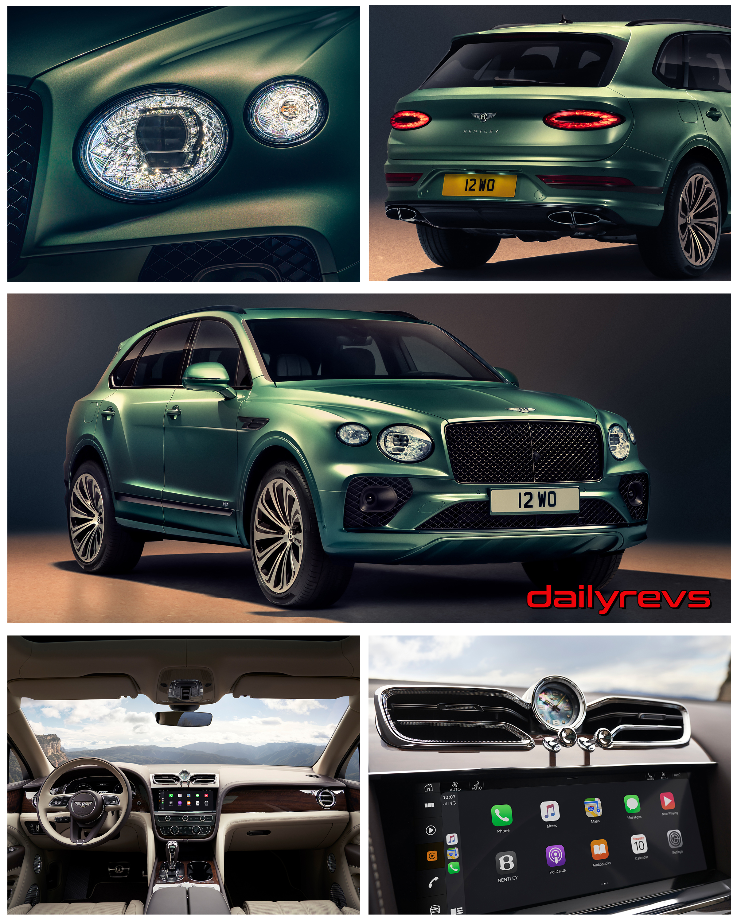 2021 Bentley Bentayga Dailyrevs