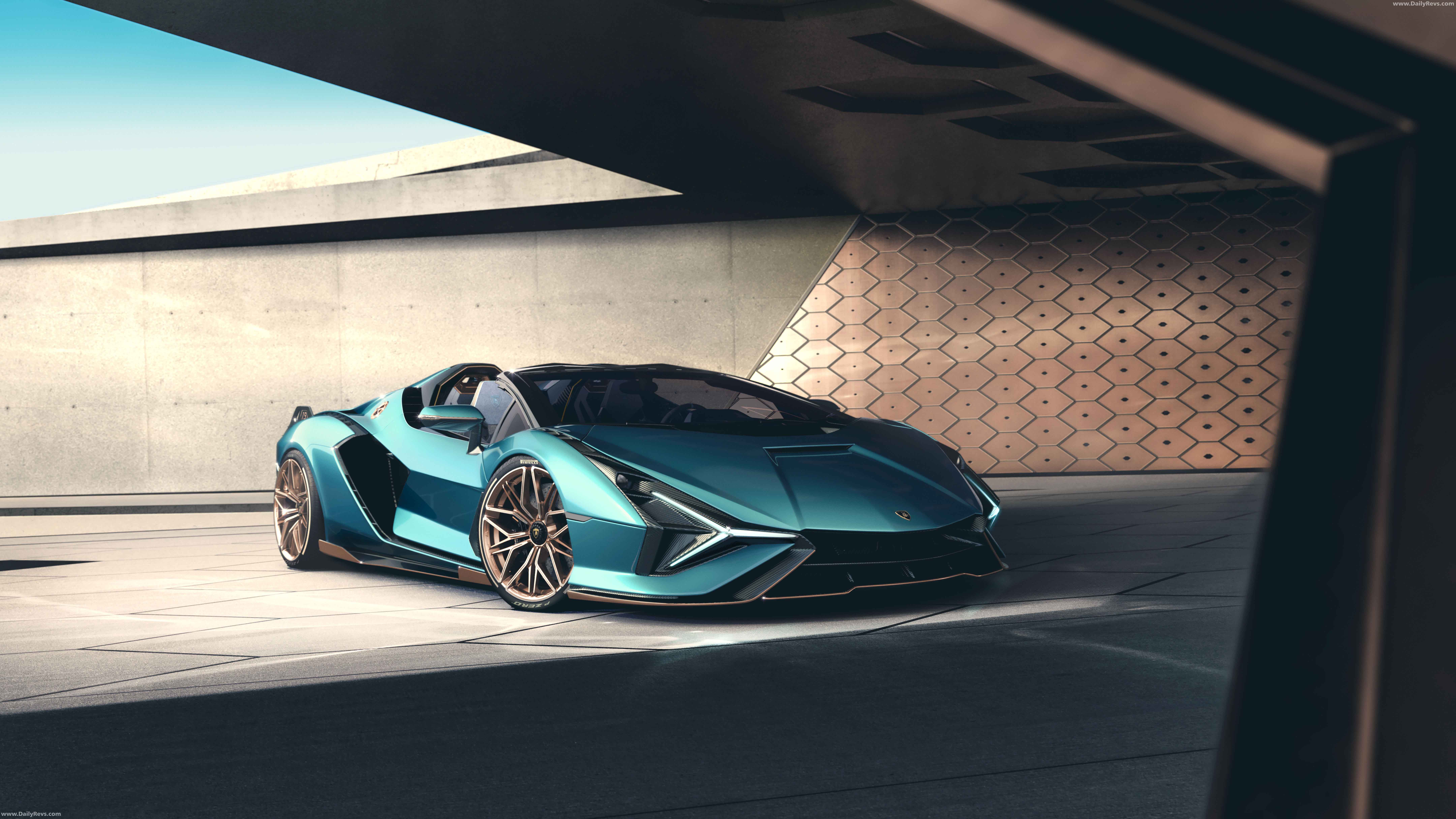 2021 Lamborghini Sian Roadster full