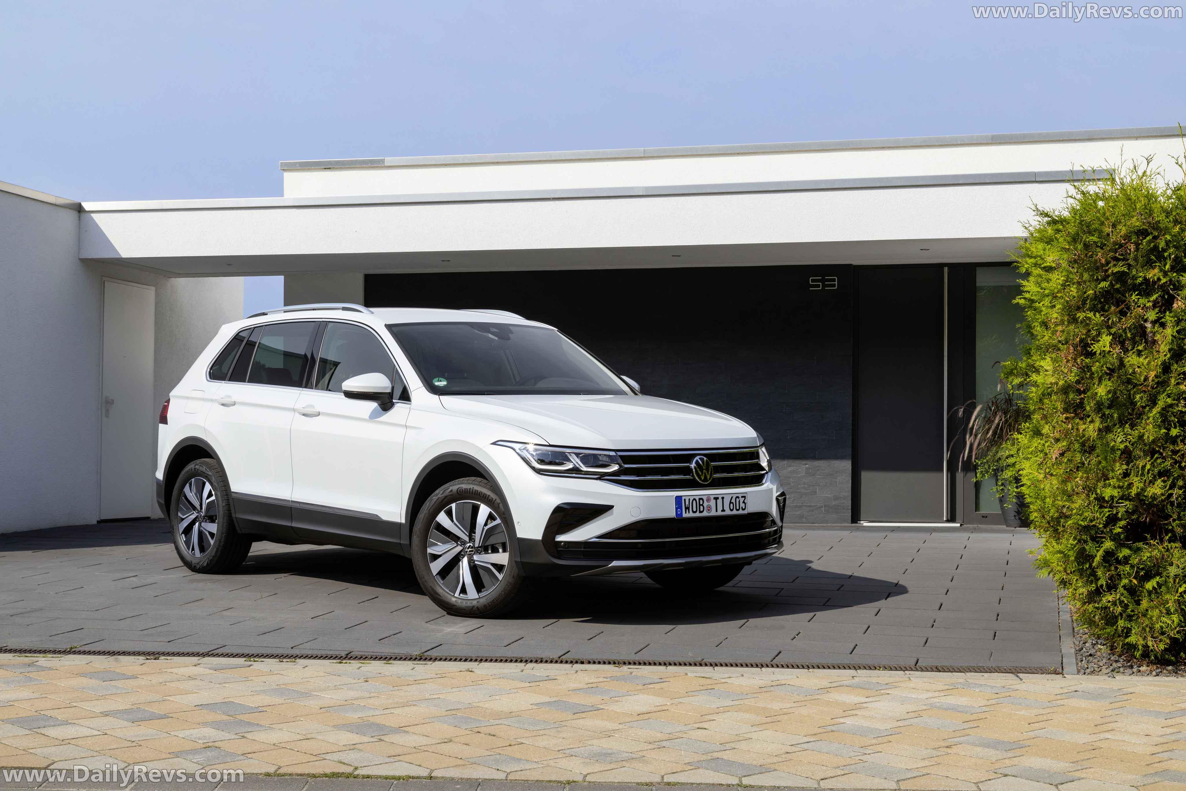 2021 Volkswagen Tiguan e-Hybrid - Dailyrevs