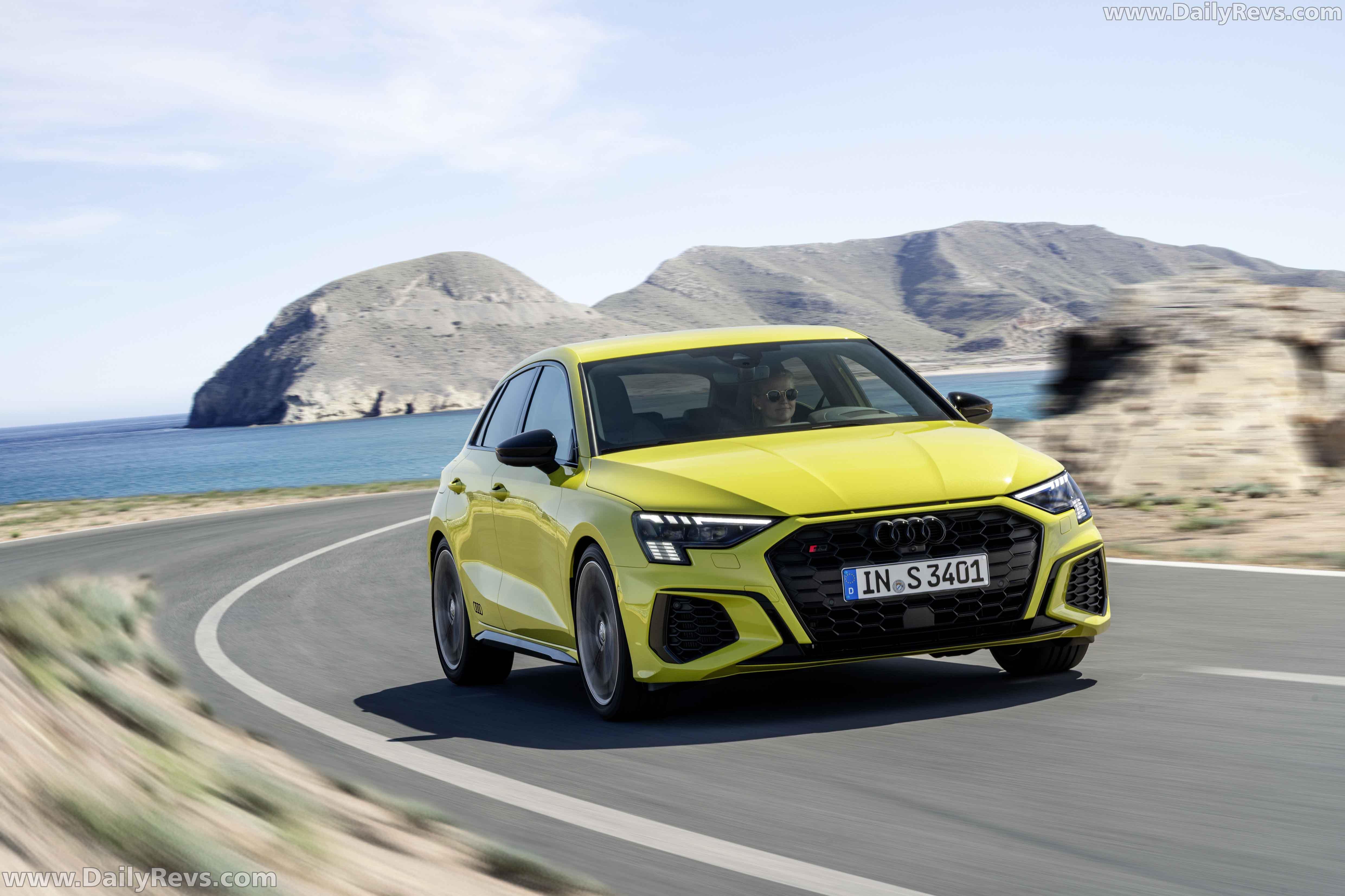 2021 Audi S3 Sportback - Dailyrevs