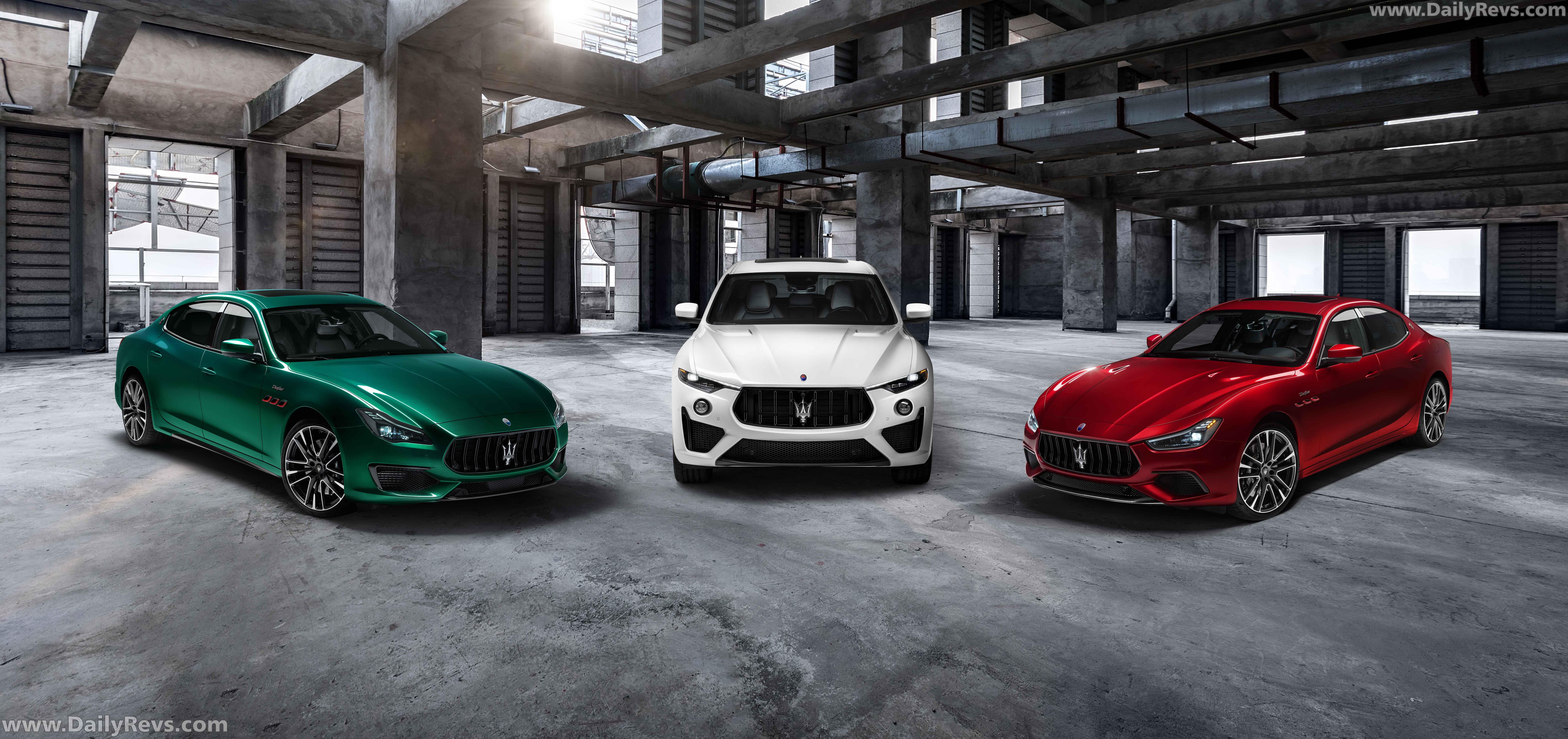 2021 Maserati Levante Trofeo full
