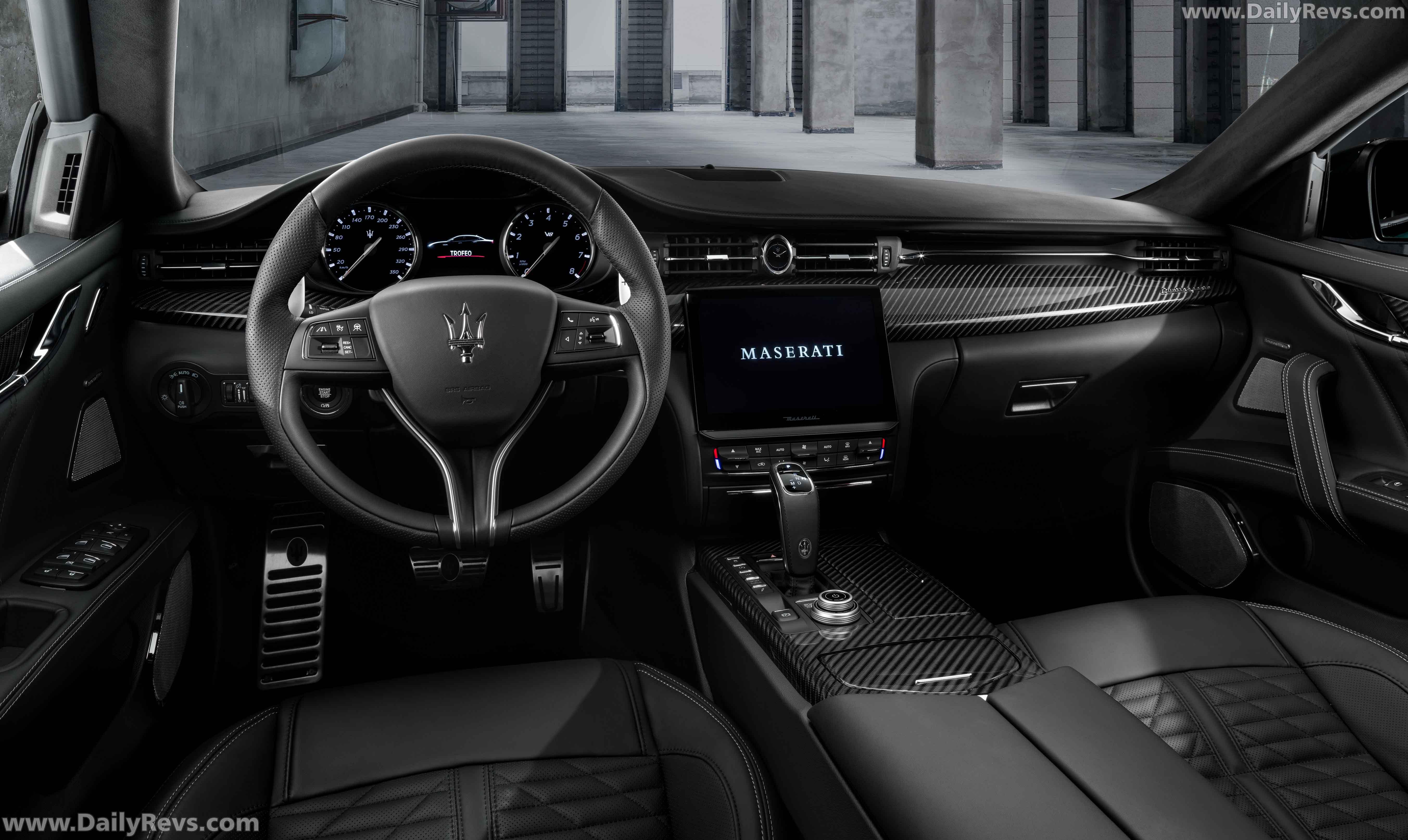 2021 Maserati Quattroporte Trofeo full