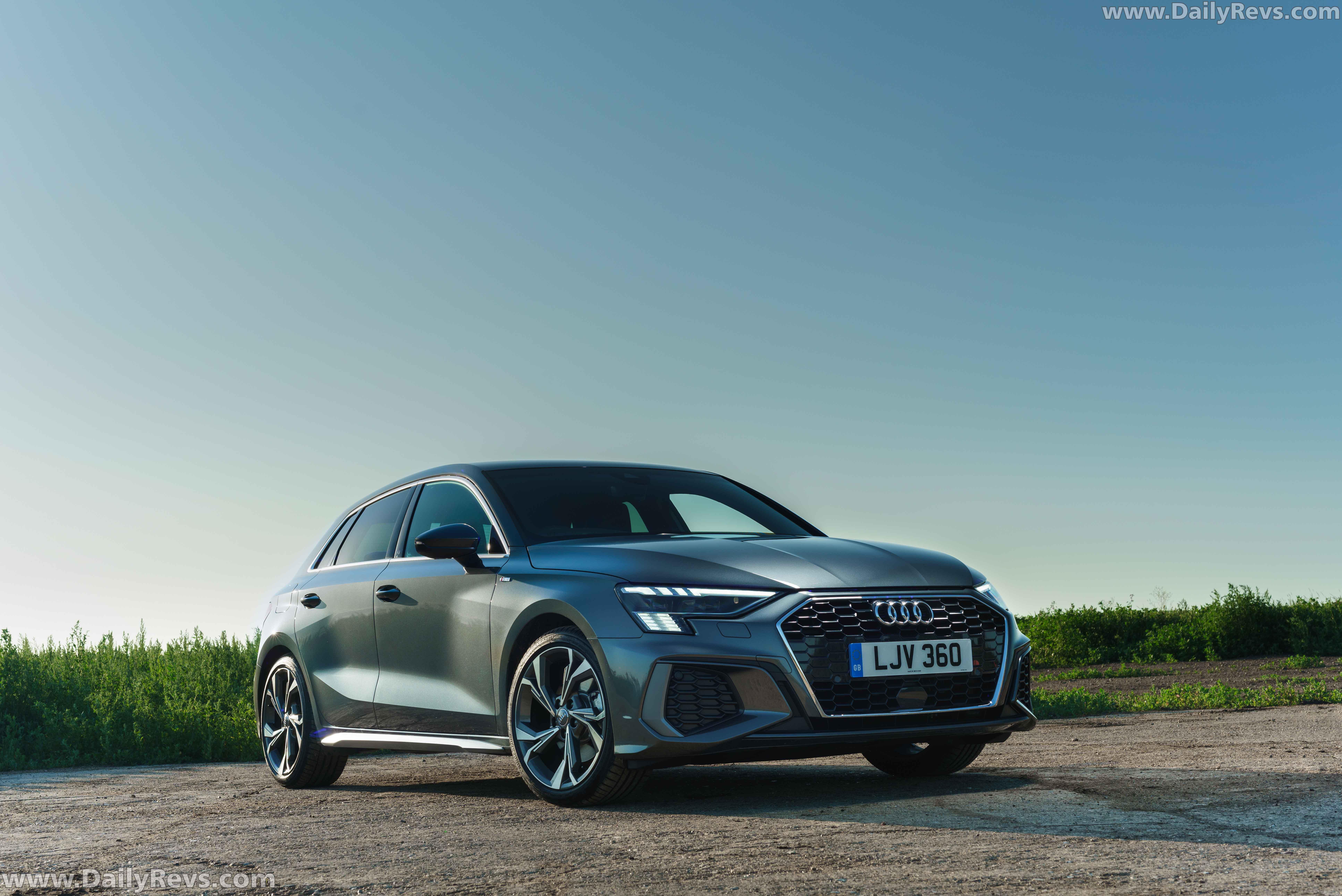 2021 Audi A3 Sportback UK - Dailyrevs