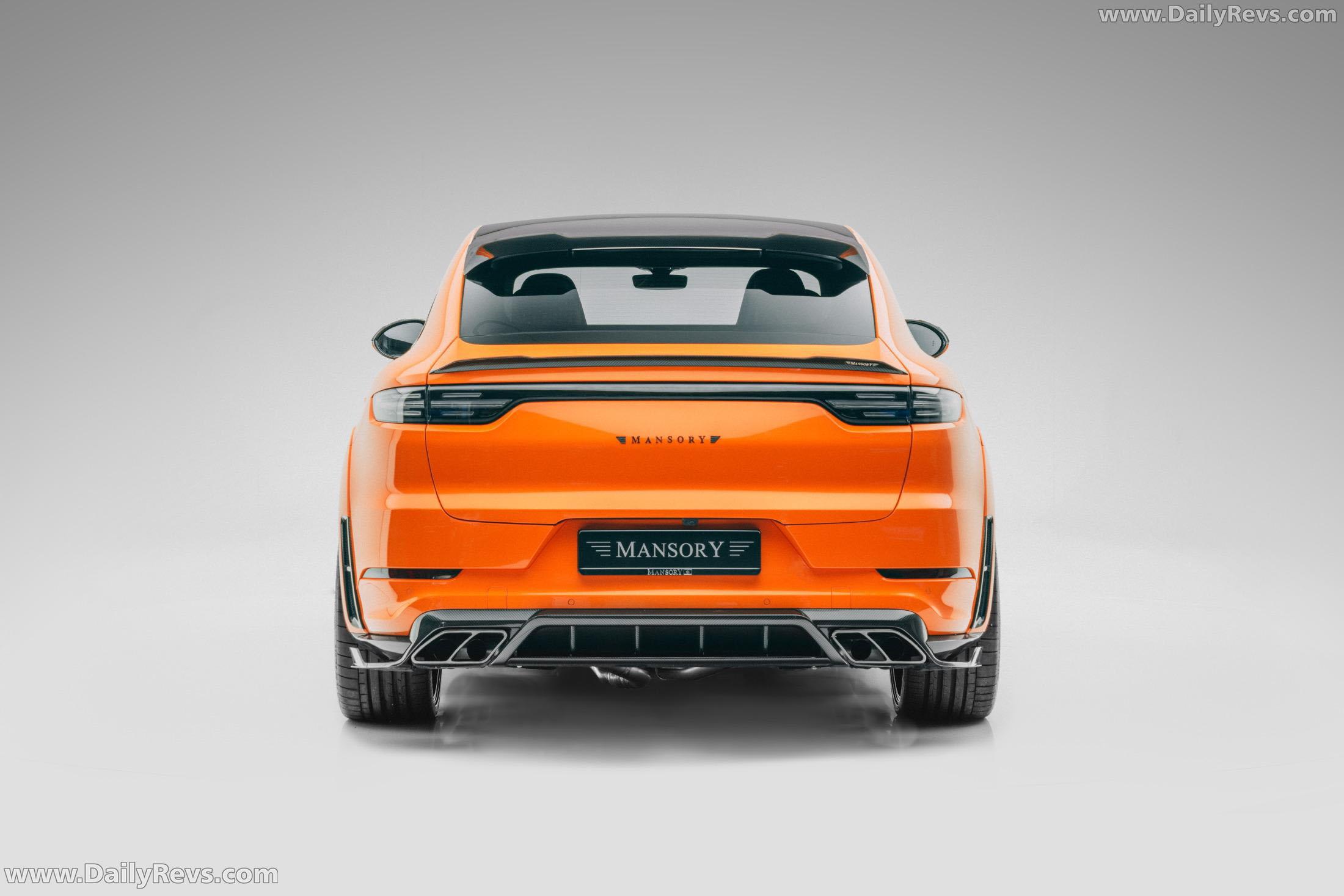 2020 Mansory Porsche Cayenne Turbo Coupe full