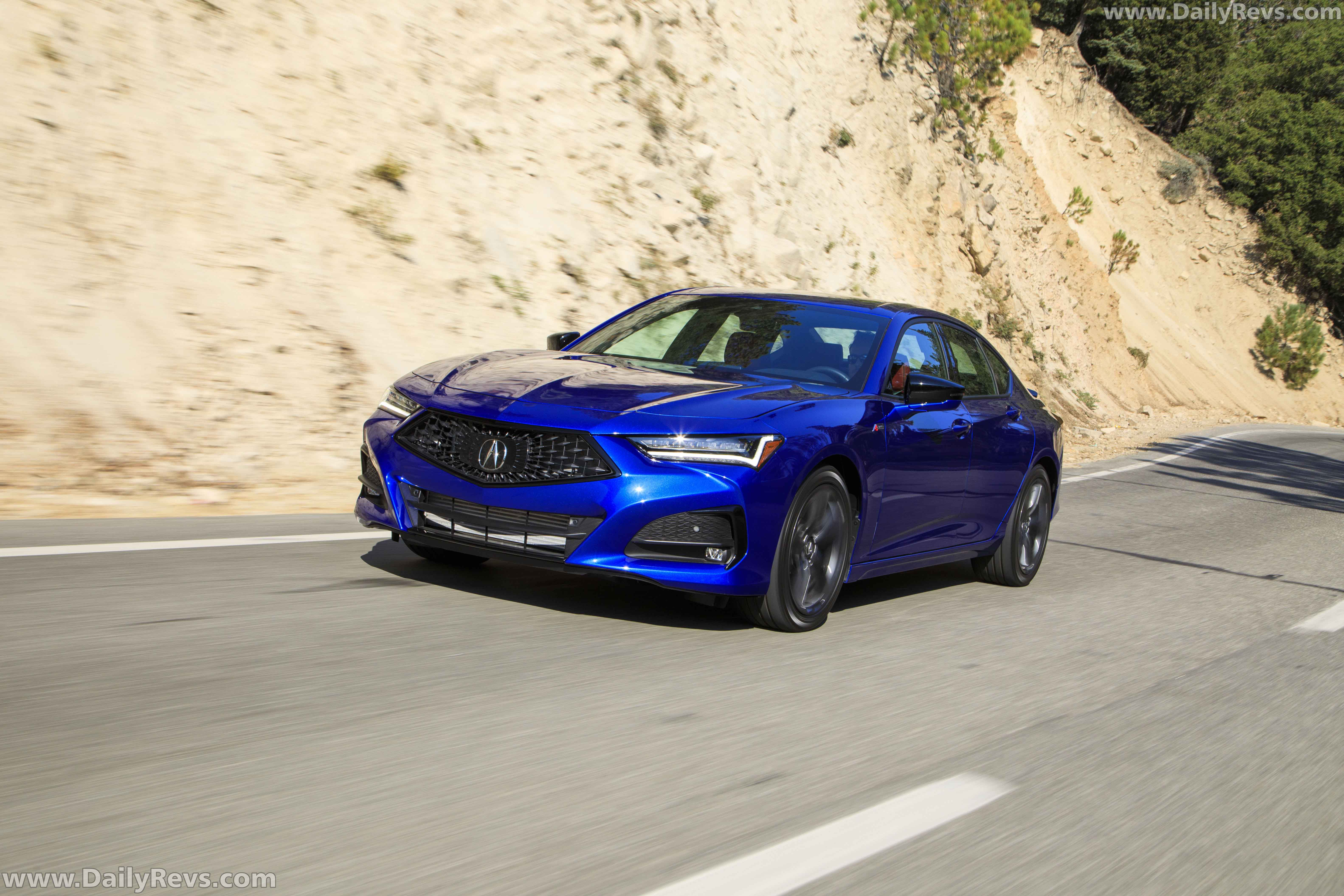2021 acura tlx a-spec - dailyrevs