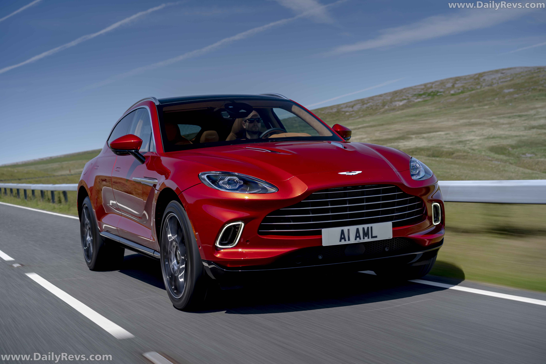 2021 Aston Martin Dbx Hyper Red Dailyrevs