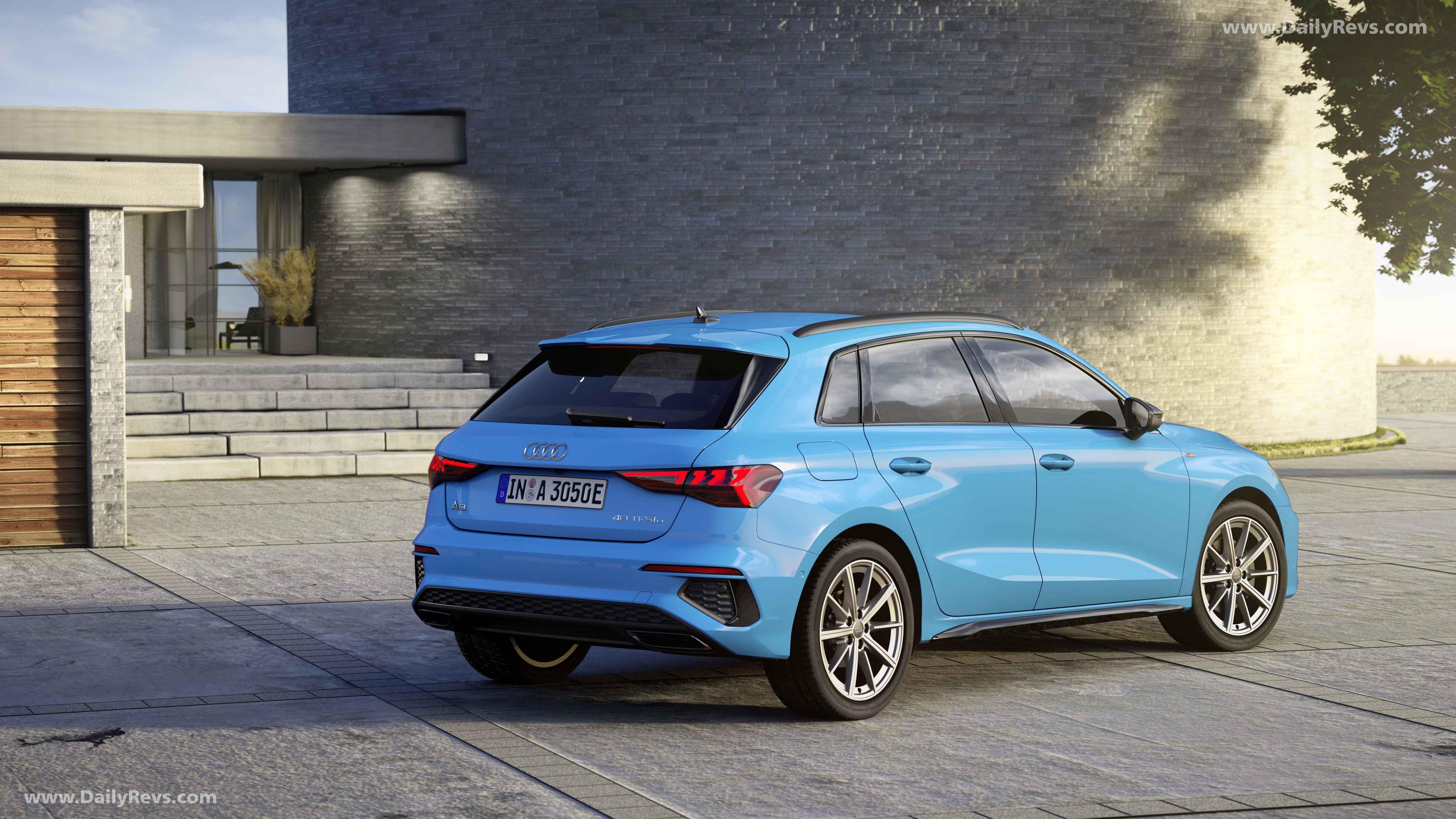 2021 Audi A3 Sportback 40 TFSI e - Dailyrevs