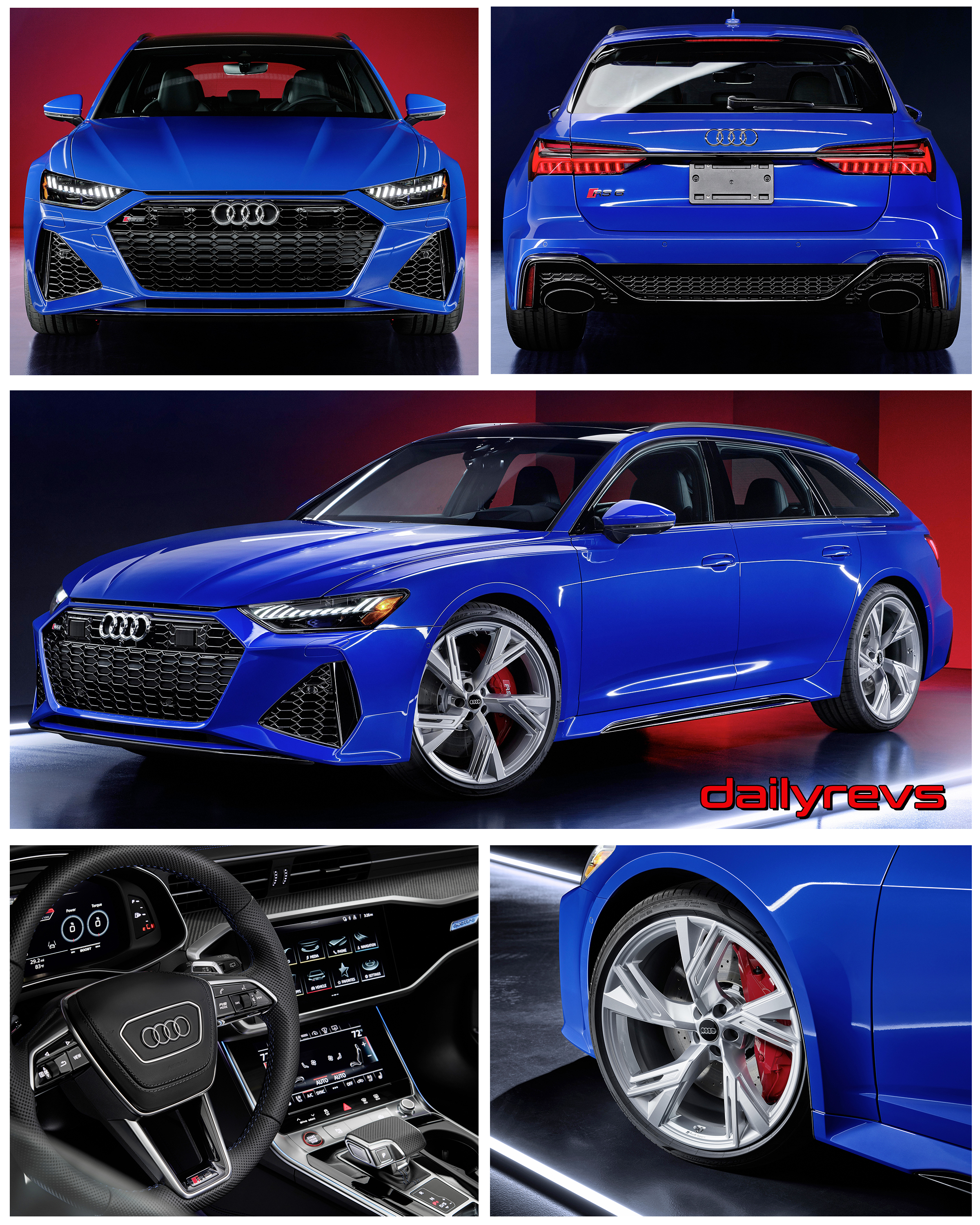 2021 Audi RS6 Avant RS Tribute Edition - Dailyrevs