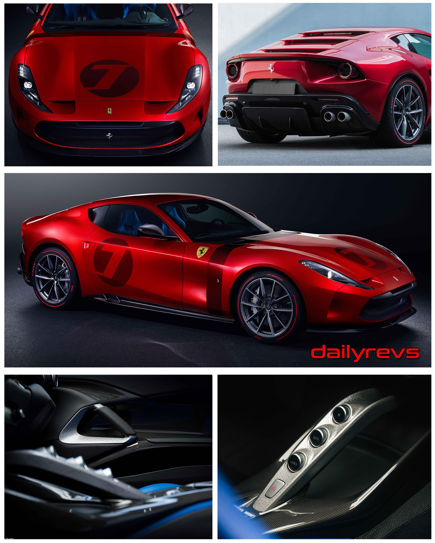 2021 Ferrari Omologata Dailyrevs