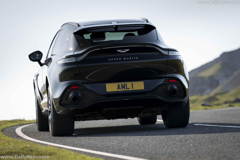 2021 Aston Martin Dbx Onyx Black Dailyrevs