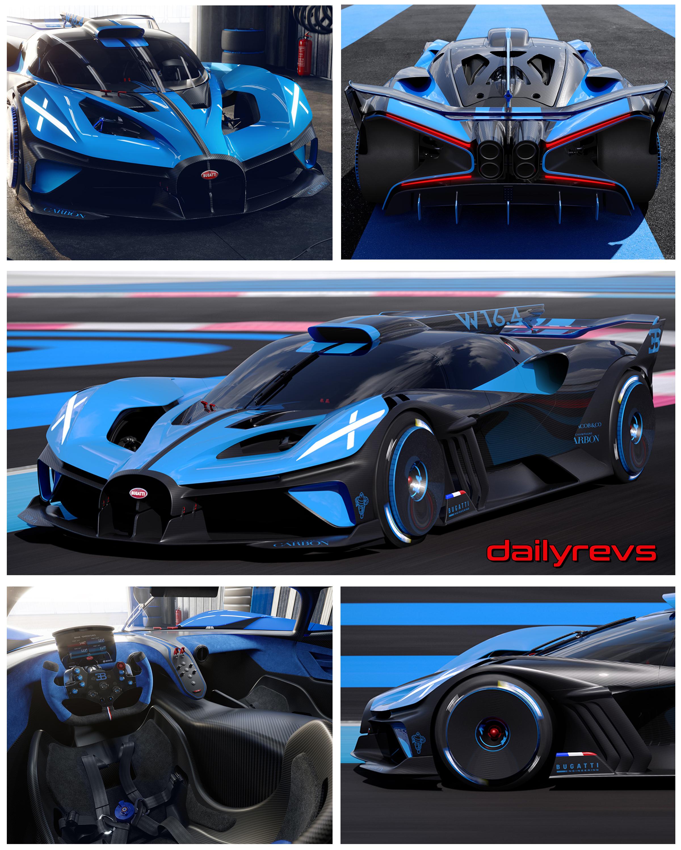 2020 Bugatti Bolide Concept Dailyrevs