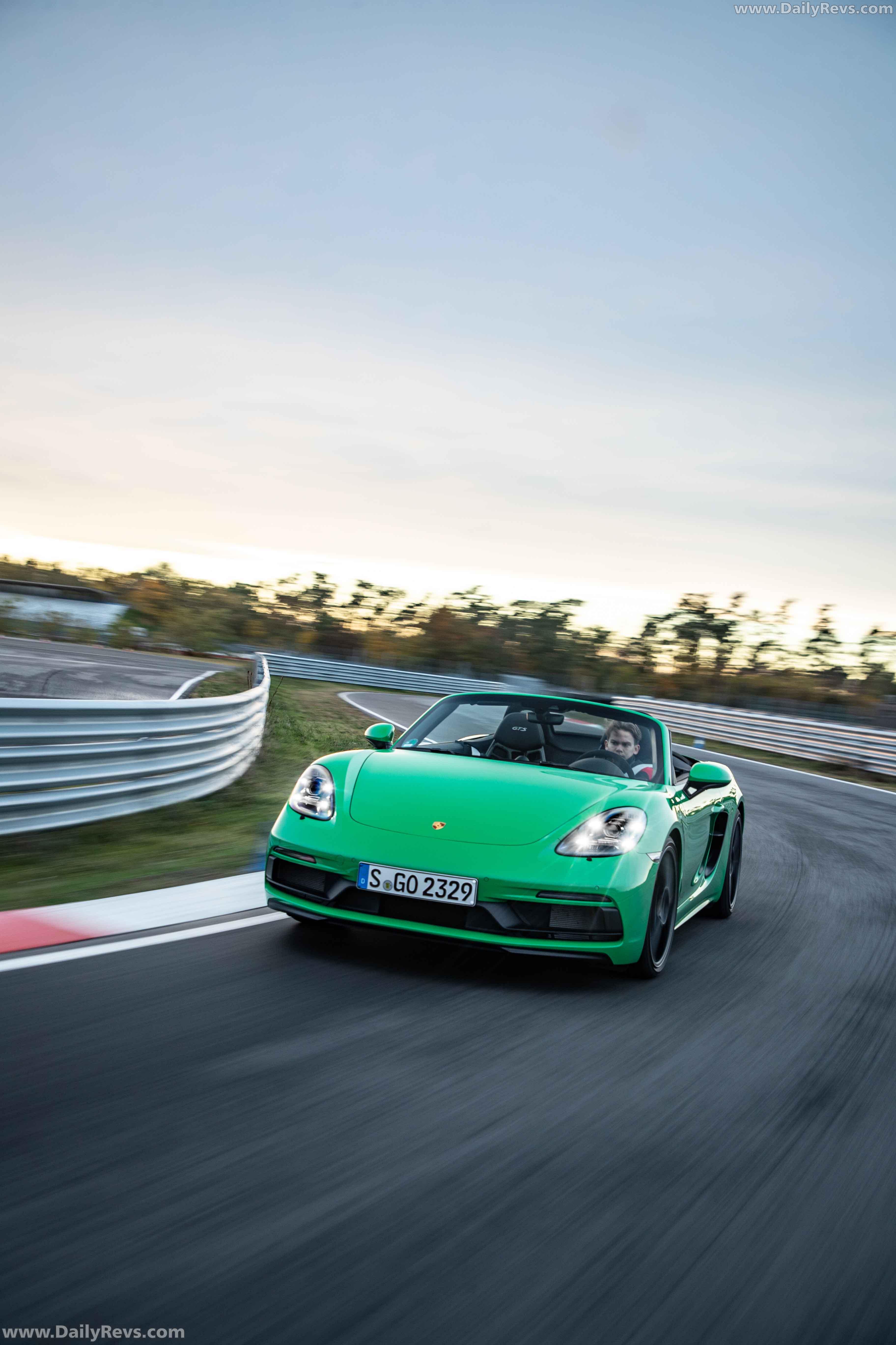 2020 Porsche 718 Boxster GTS 4.0-Python Green - Dailyrevs