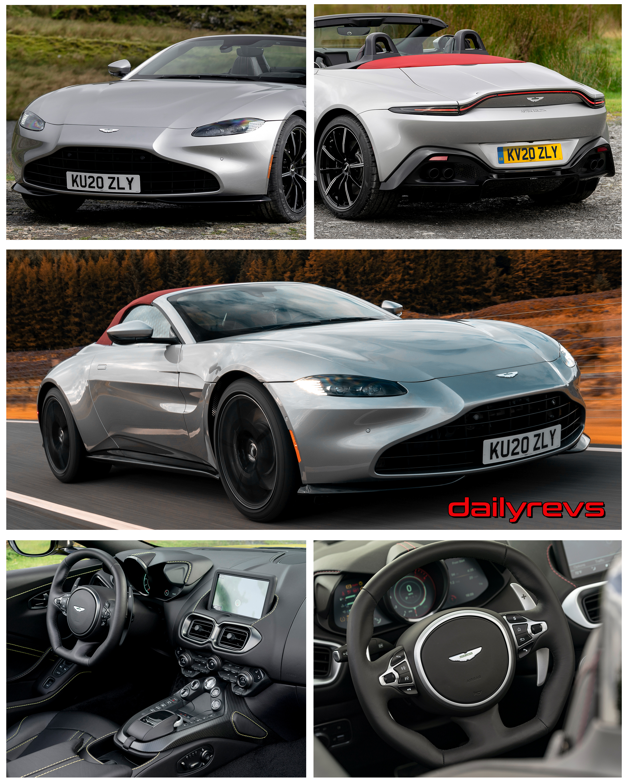 2021 Aston Martin Vantage Roadster Spirit Silver Dailyrevs