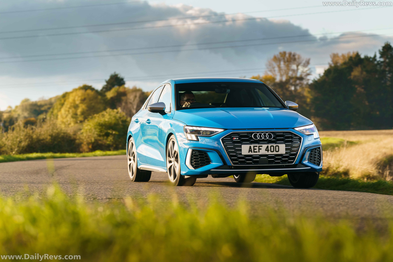 2021 Audi S3 Sedan - UK Version - Dailyrevs