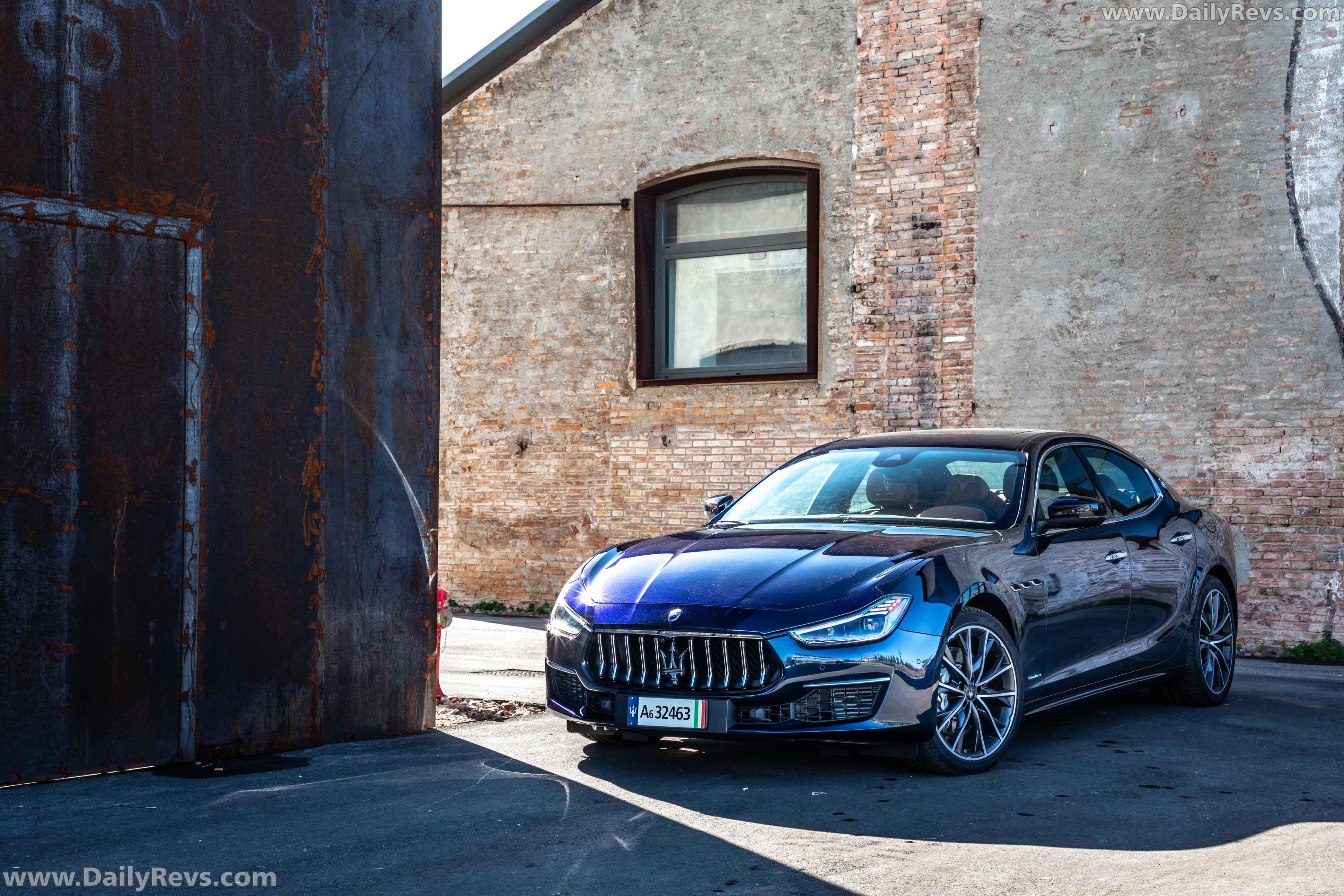 2021 Maserati Ghibli SQ4 - Dailyrevs