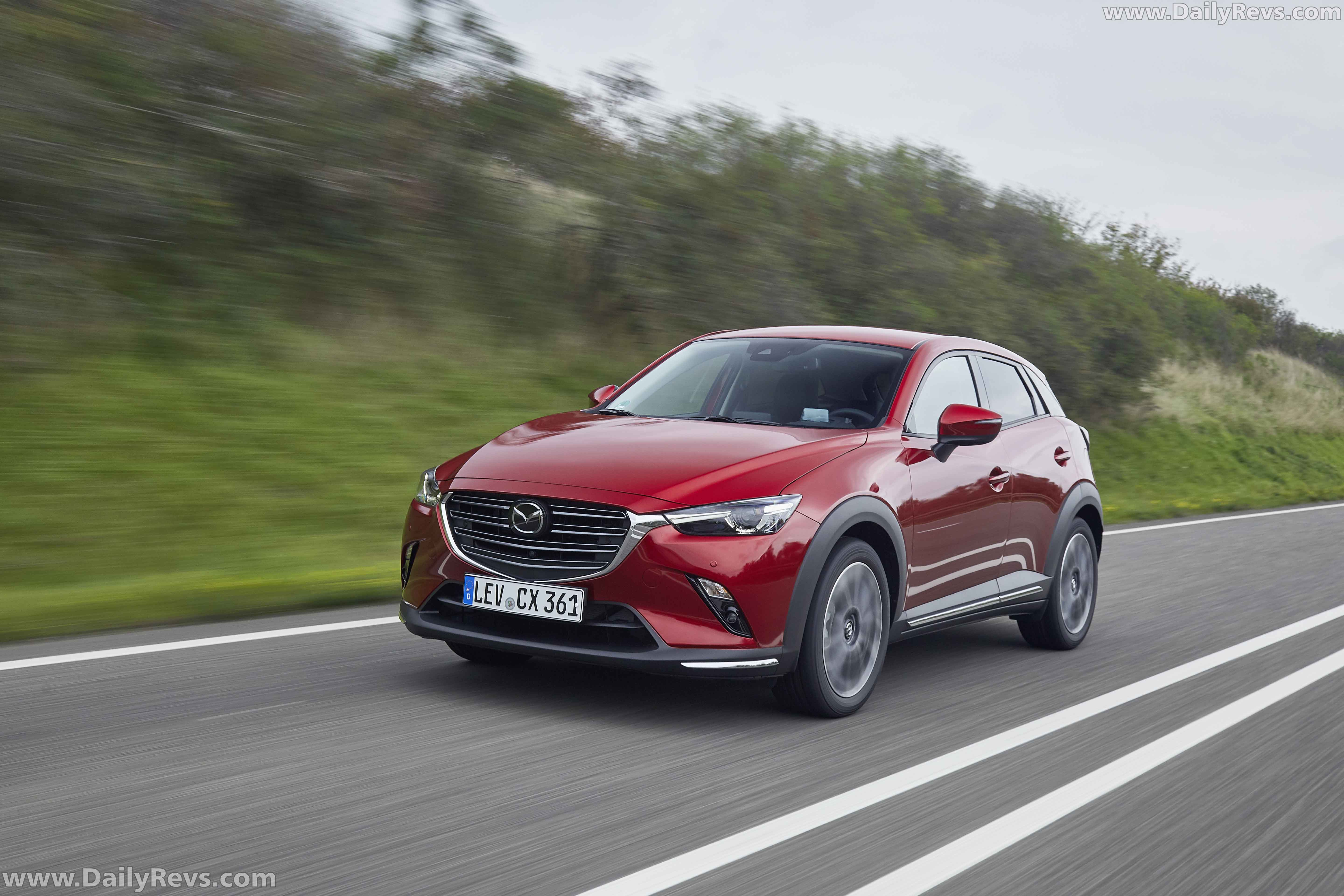 2021 mazda cx-3 - soul red crystal - dailyrevs