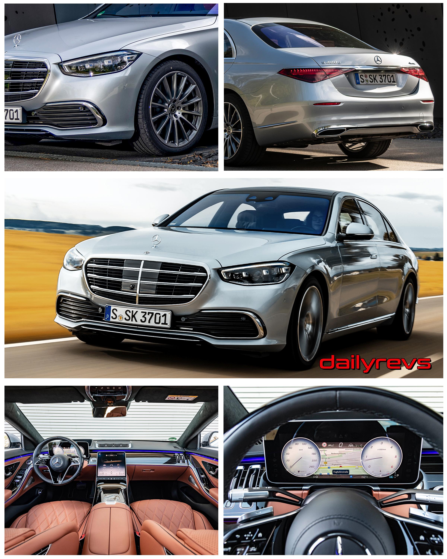 2021 Mercedes-Benz S 400d 4Matic