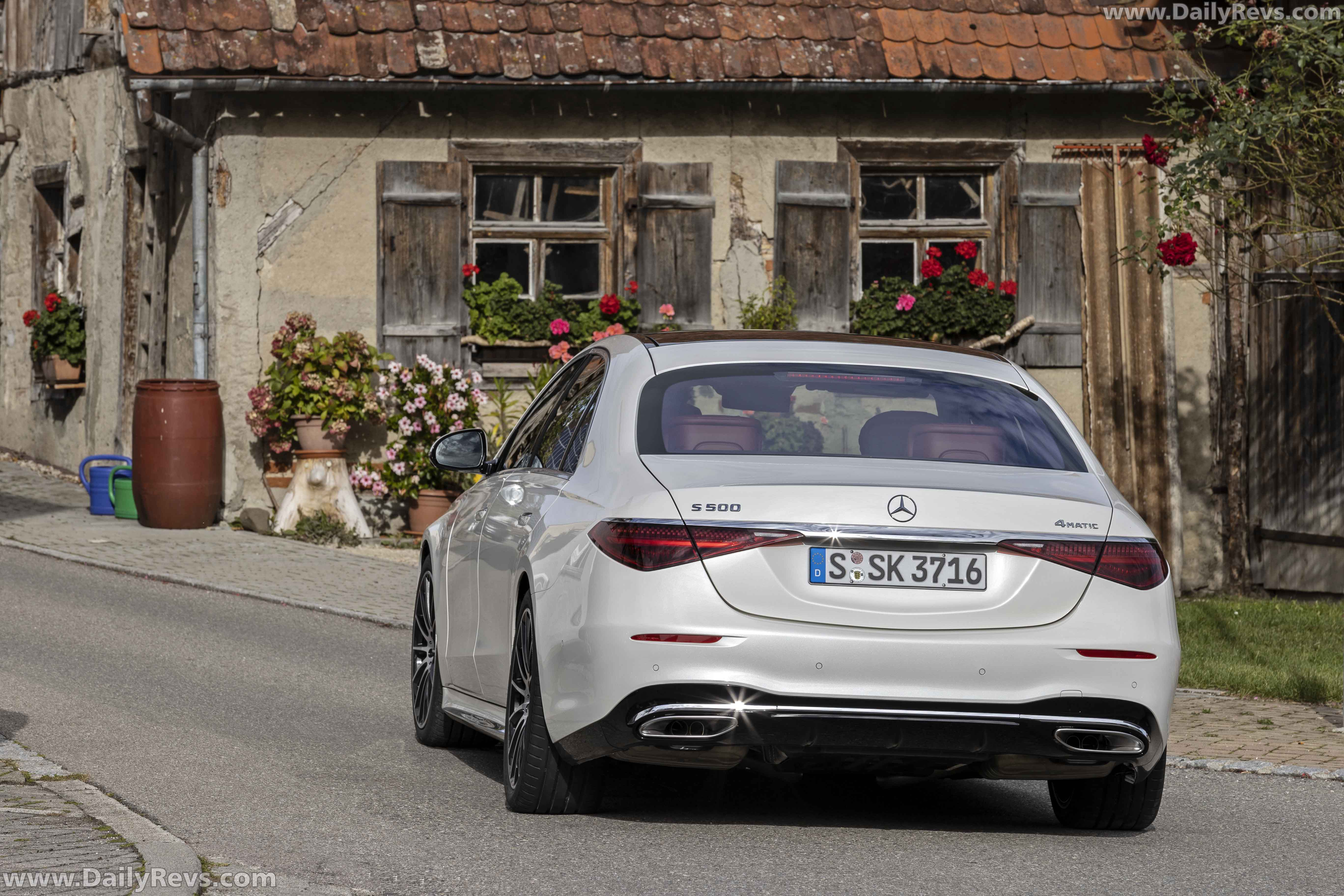 2021 Mercedes-Benz S 500 4Matic full