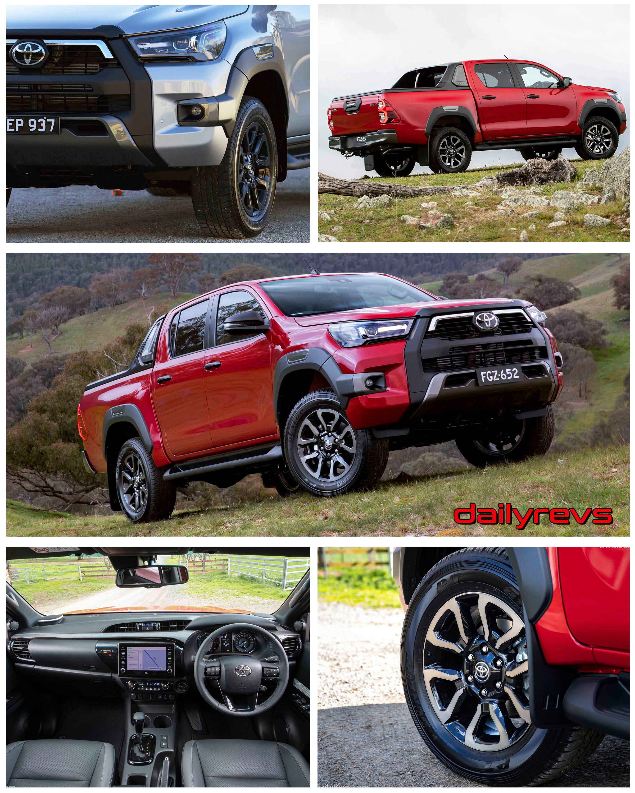 2021 toyota hilux rogue - dailyrevs