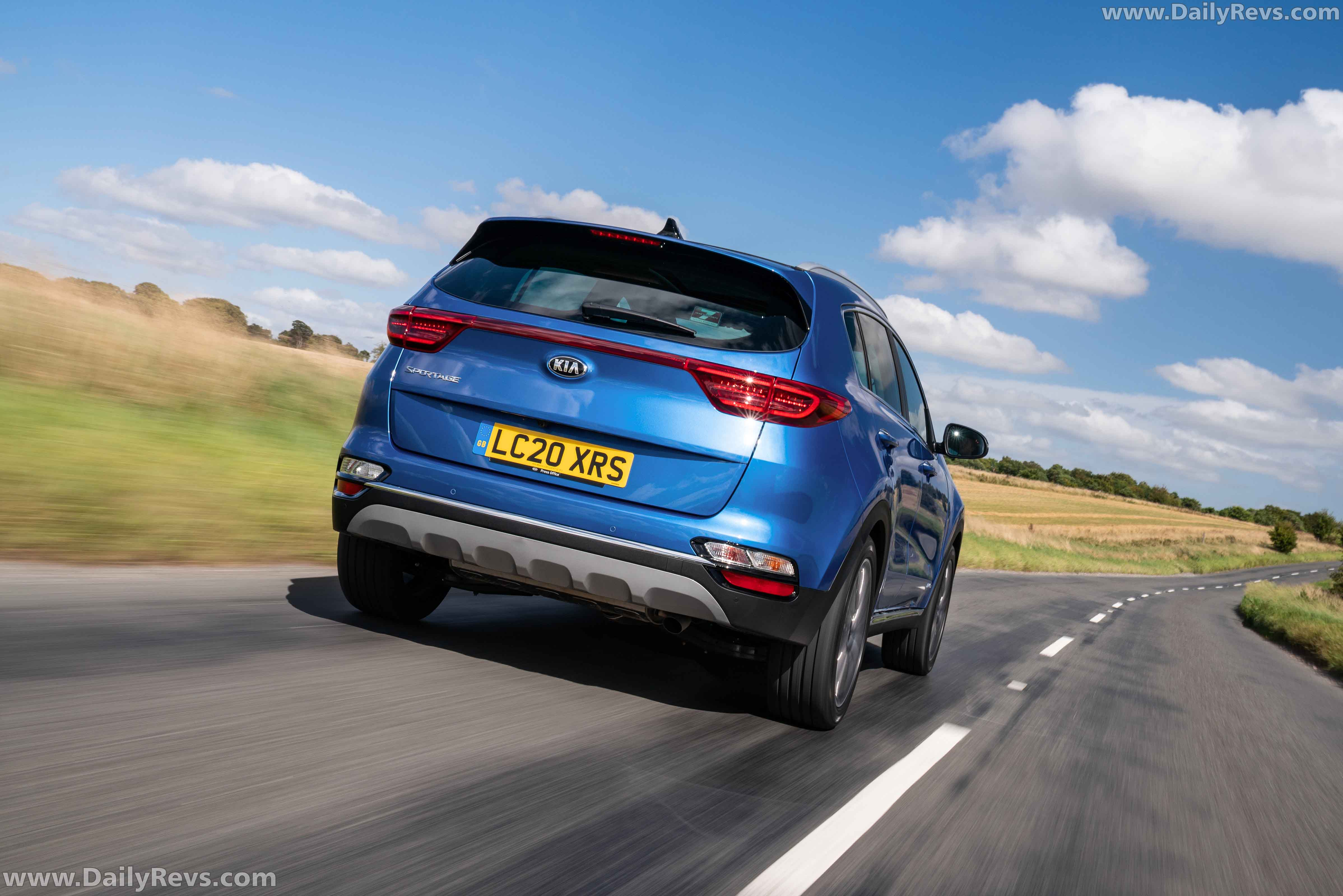 2020 Kia Sportage UK Version full